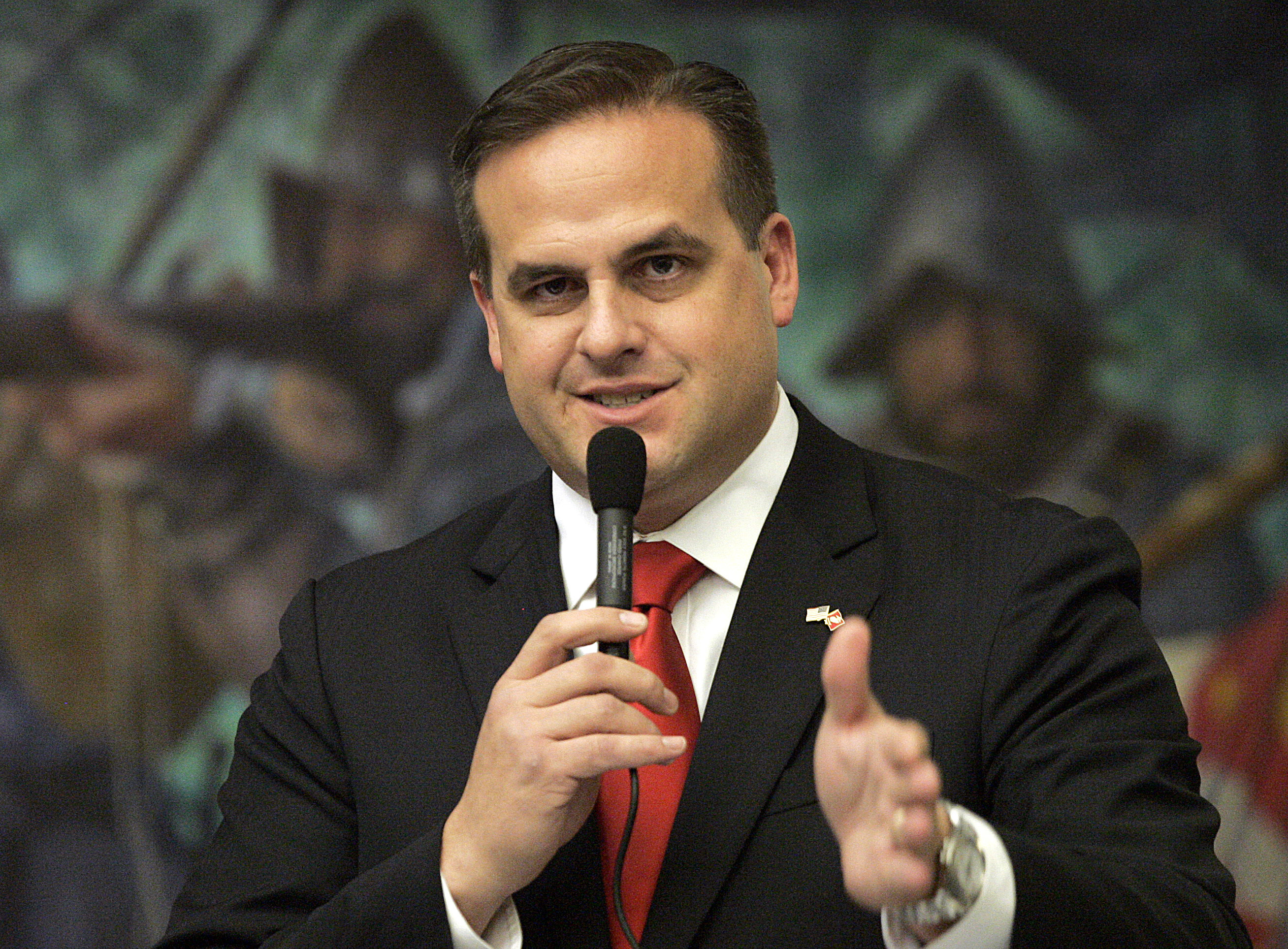 Republican state senator Frank Artiles in Tallahassee, Fla. on March 9, 2012.