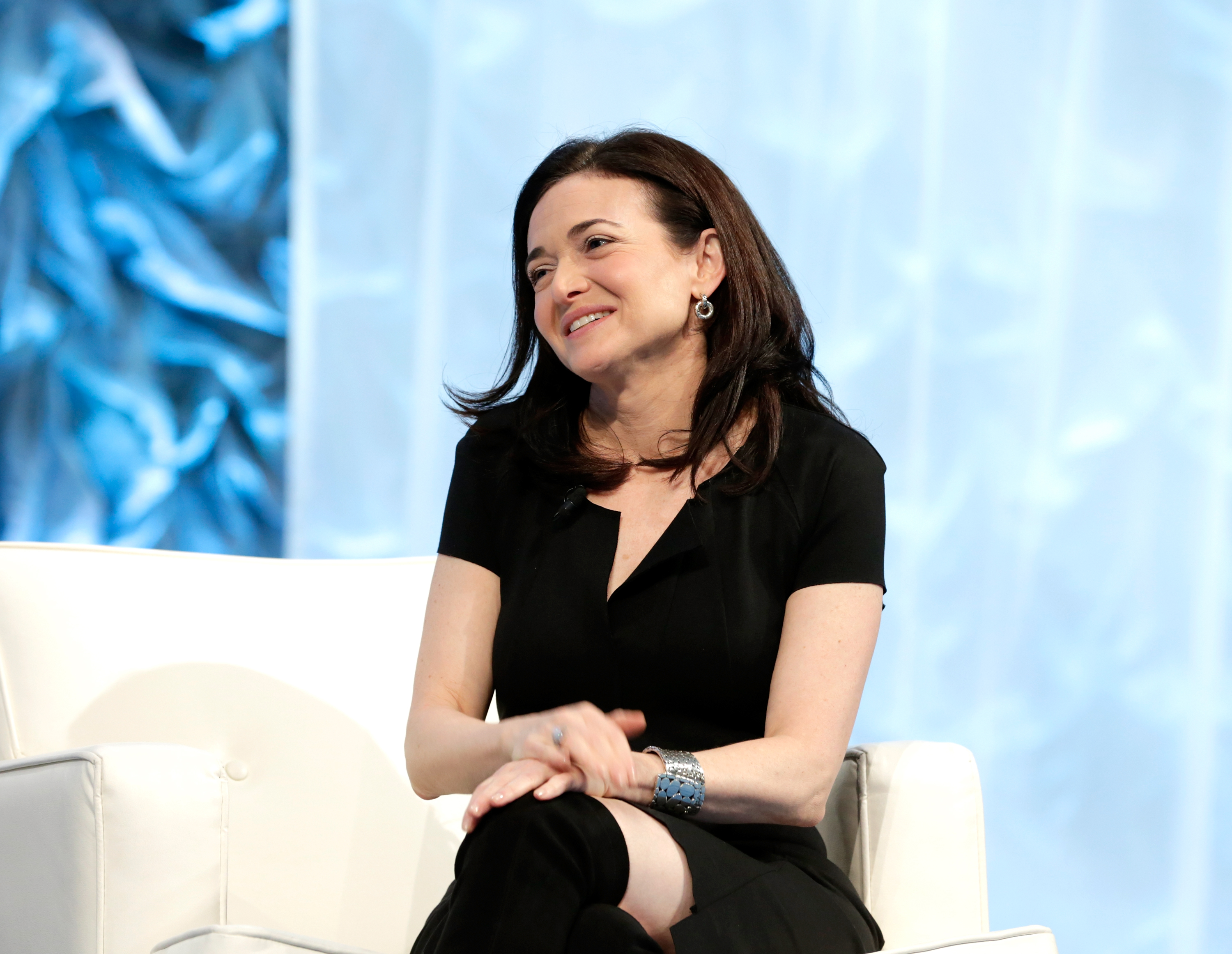 SAN JOSE, CA - FEBRUARY 01:  COO of Facebook Sheryl Sandberg speaks at the Watermark Conference for Women at San Jose Convention Center on February 1, 2017 in San Jose, California.  (Photo by Marla Aufmuth/Getty Images for Watermark Conference for Women  )
