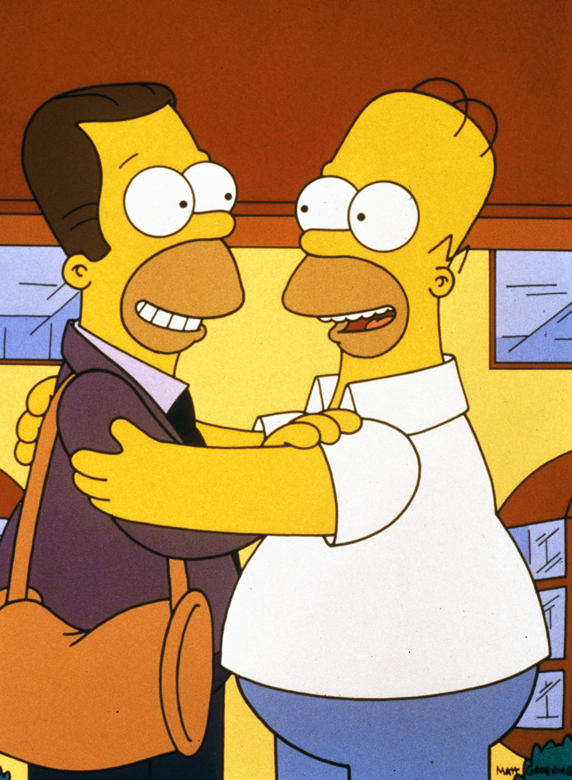 """<b>Danny DeVito:</b> DeVito appeared three times on <i>The Simpsons</i> as Homer's half-brother, Herb Powell, first in """"Oh Brother Where Art Thou?"""" in 1991 and then in 1992's """"Brother, Can you Spare Two Dimes?"""" more than 20 years later, in 2013, in """"The Changing of the Guardian."""""""