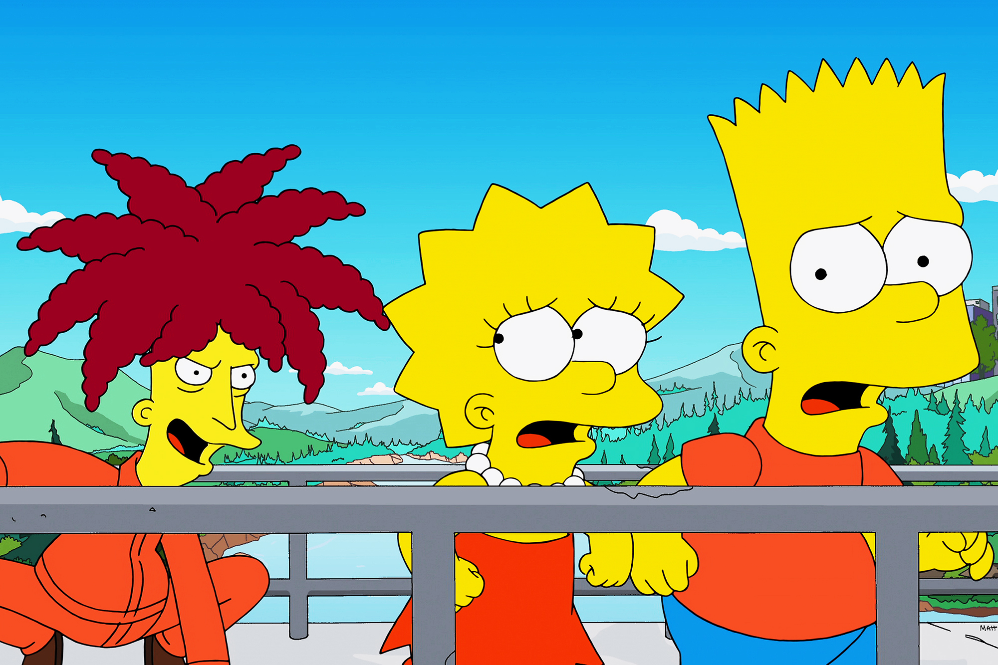 """<b>Kelsey Grammar:</b> Grammar has appeared on <i>The Simpsons</i> eleven times, voicing Bart's arch-nemesis, Sideshow Bob. His first appearance was in """"Krusty Gets Busted"""" in 1990. Grammar won an Emmy for """"The Italian Bob"""" in 2005."""