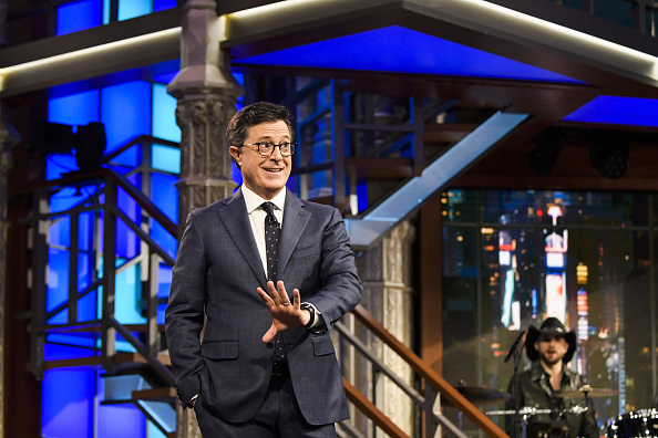Stephen Colbert hosts The Late Show on Thursday, April 6, 2017