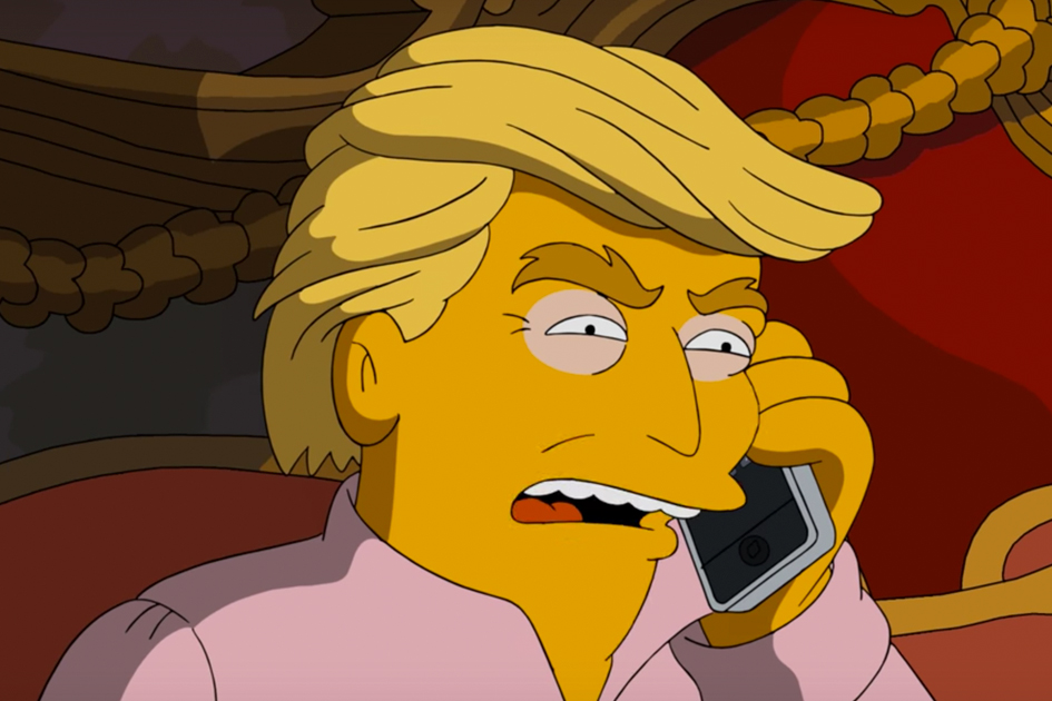 The Simpsons  imagines what President Donald Trump's first 100 days in office were like.