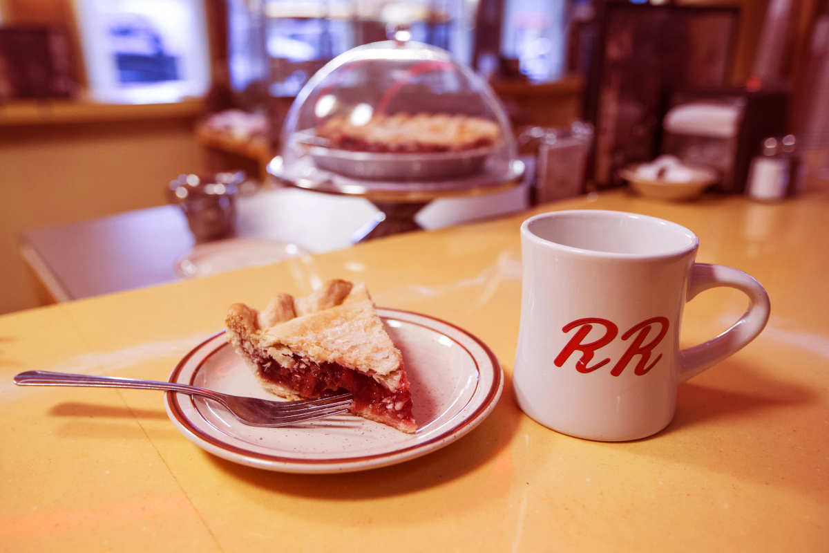 A still from Twin Peaks. Photo: Patrick Wymore/SHOWTIME