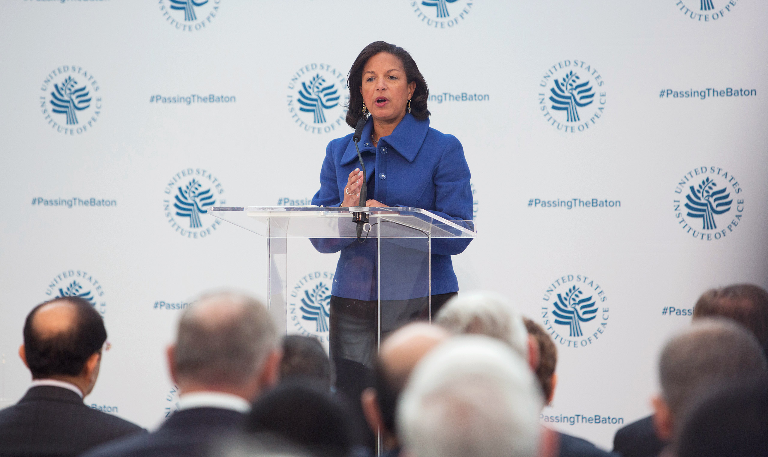 Susan Rice was President Obama's National Security Adviser