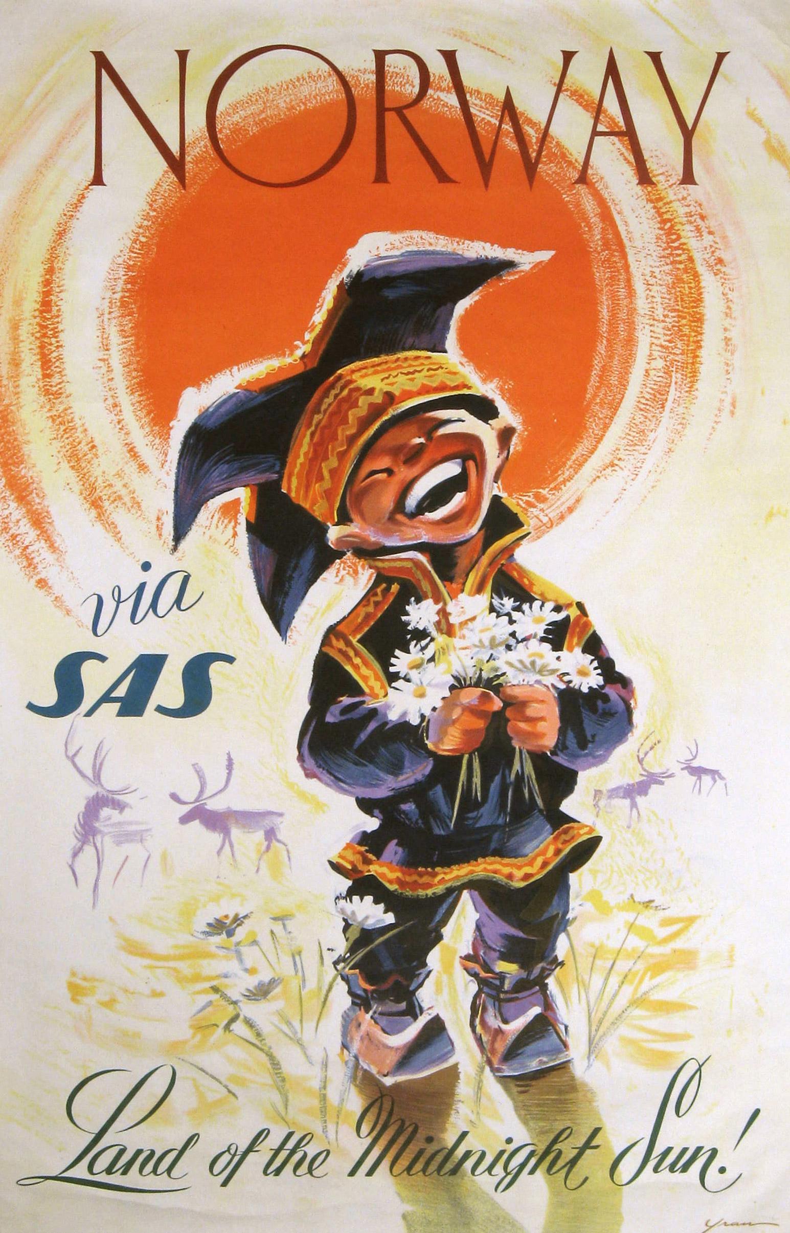 SAS Norway 1958.