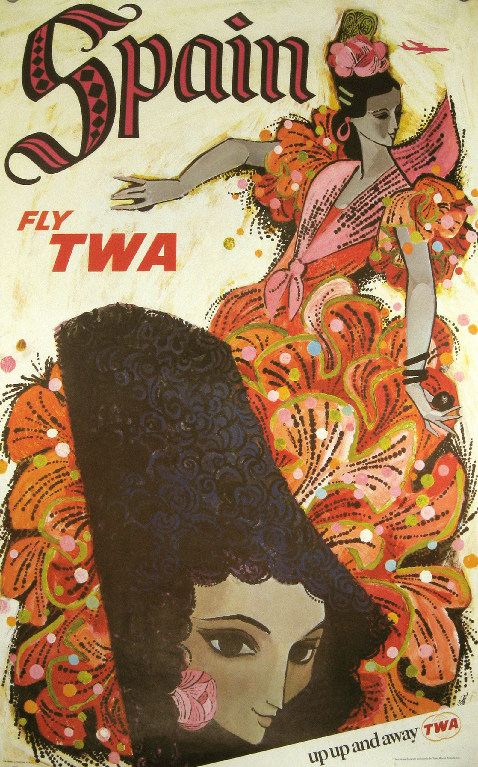 TWA Spain circa 1960.