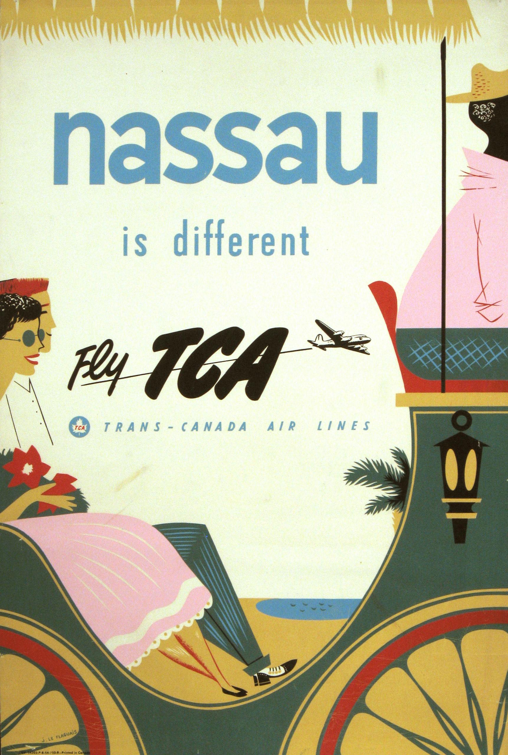 TCA Nassau 1954.