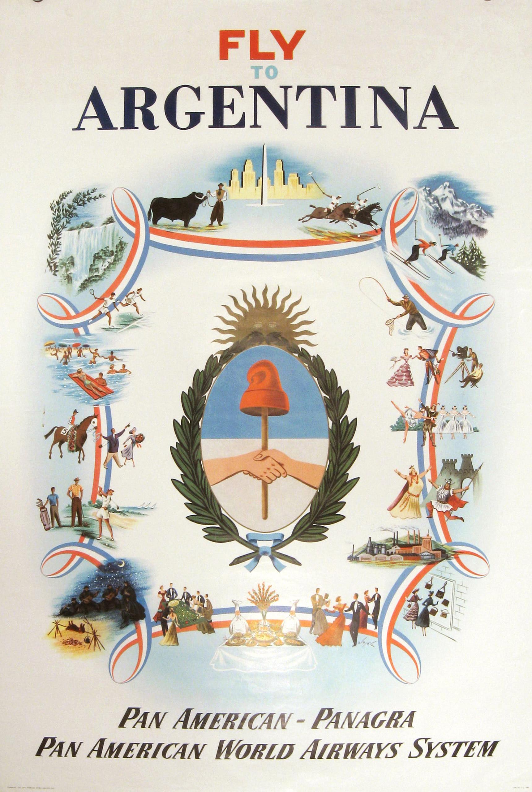 Pan Am Argentina 1951.