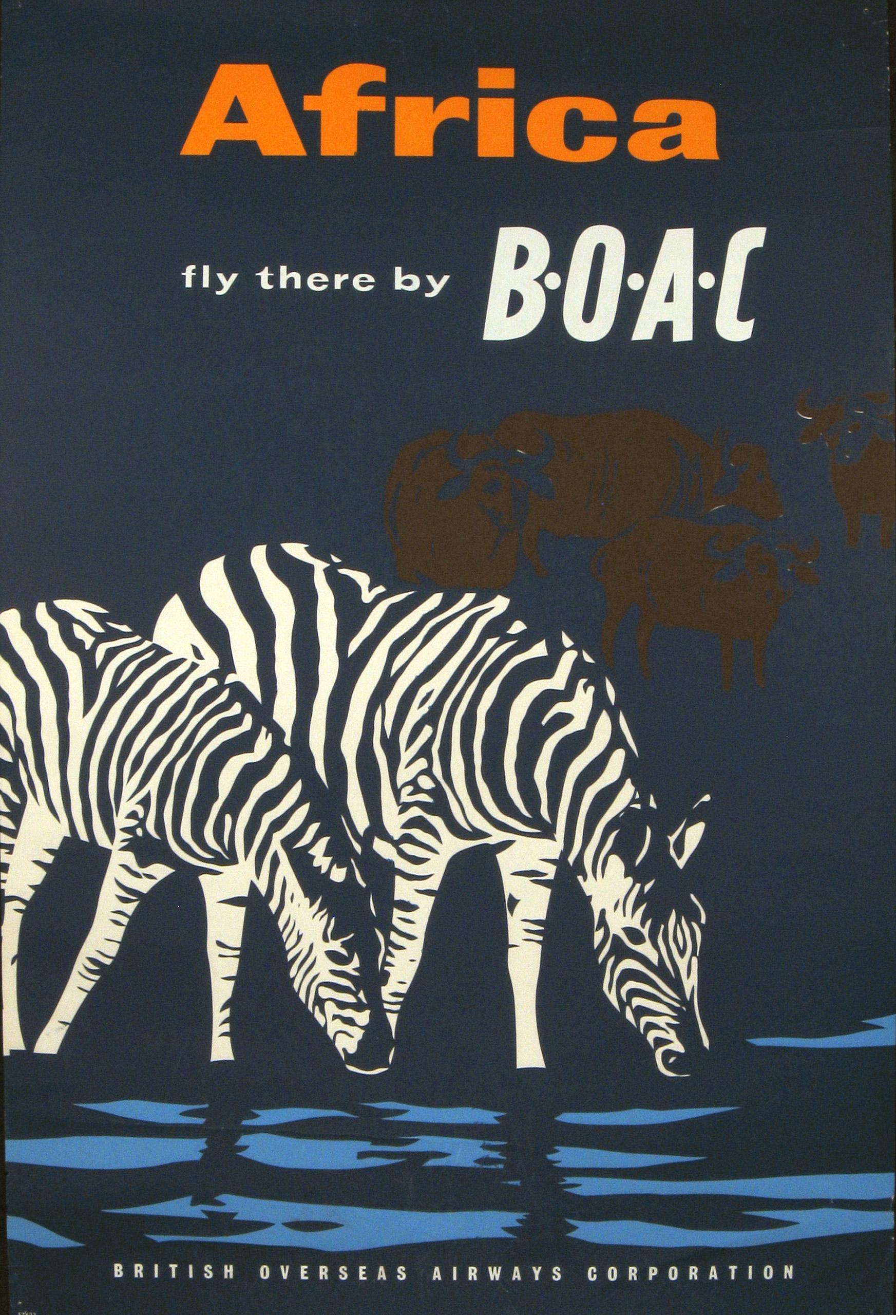 BOAC Africa circa 1960.