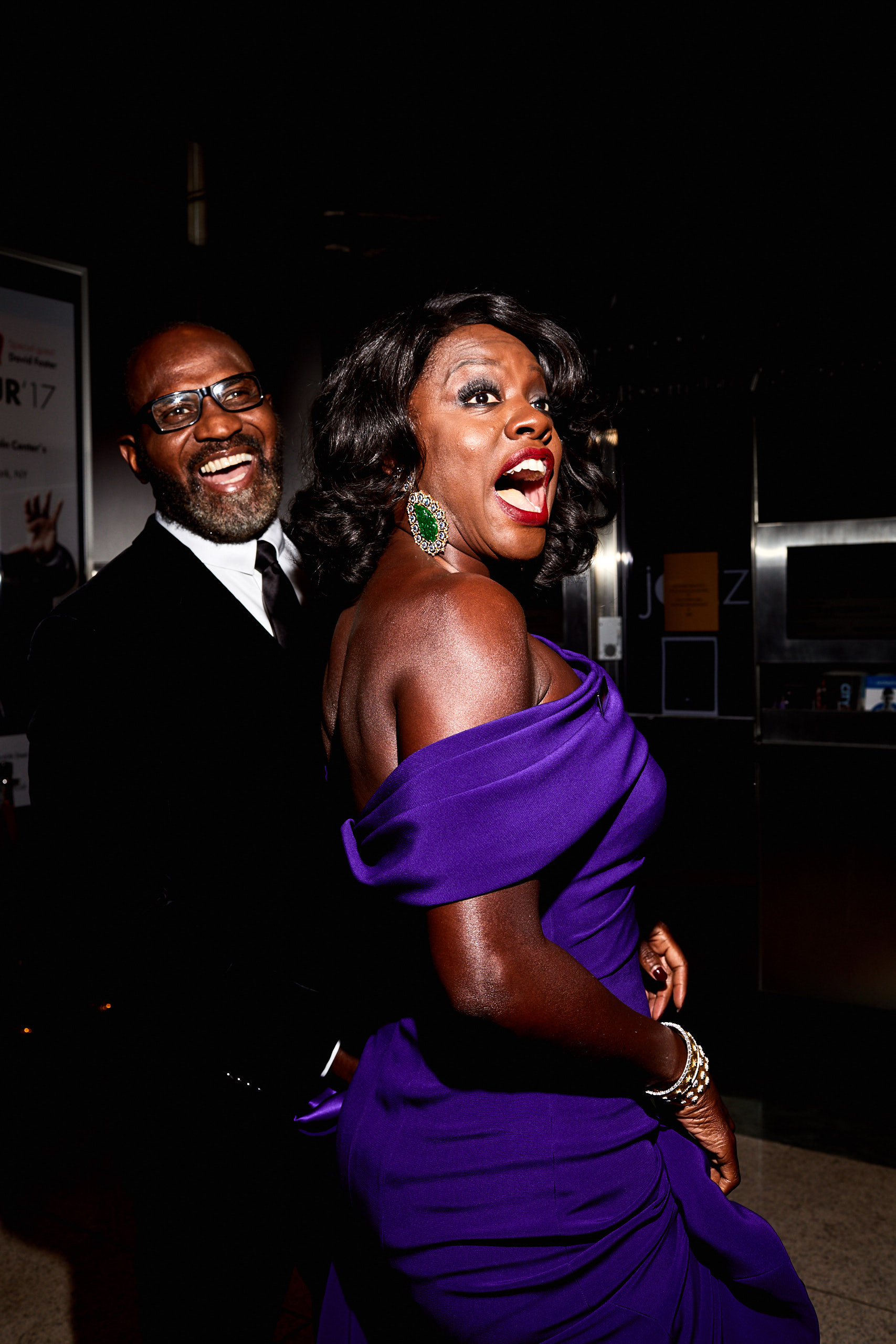 Viola Davis at the Time 100 Gala at Jazz at Lincoln Center on April 25, 2017 in New York City.