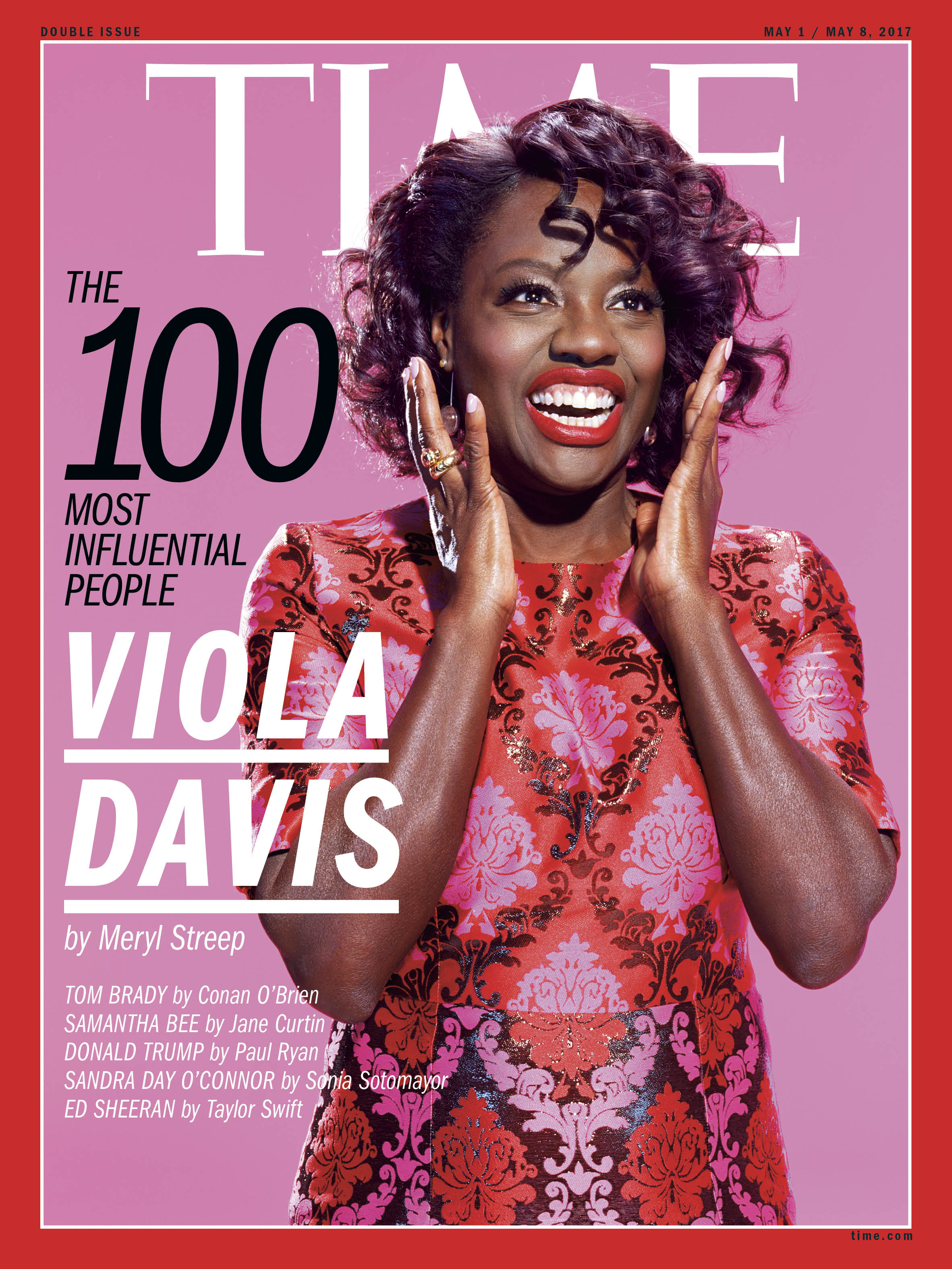 Viola Davis, TIME 100 Most Influential People cover.