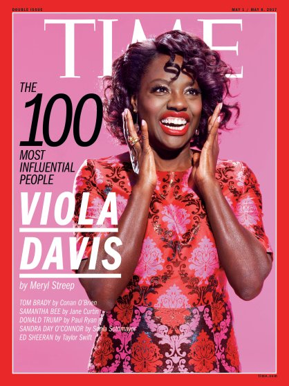 Viola Davis Time 100 Most Influential People cover