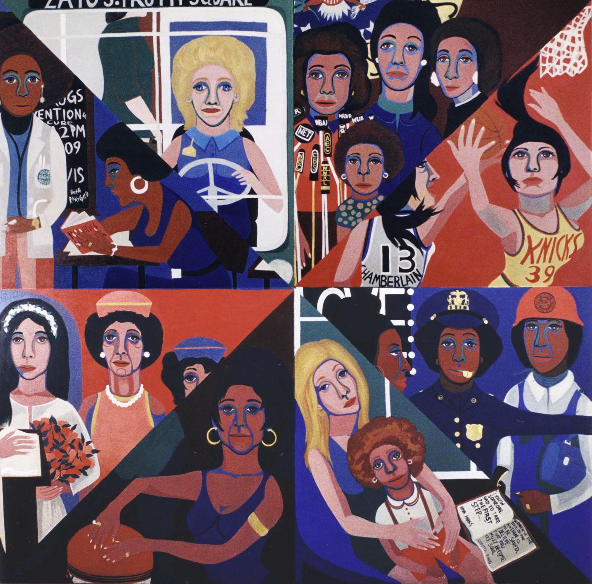 Faith Ringgold, For the Women's House, 1971.
