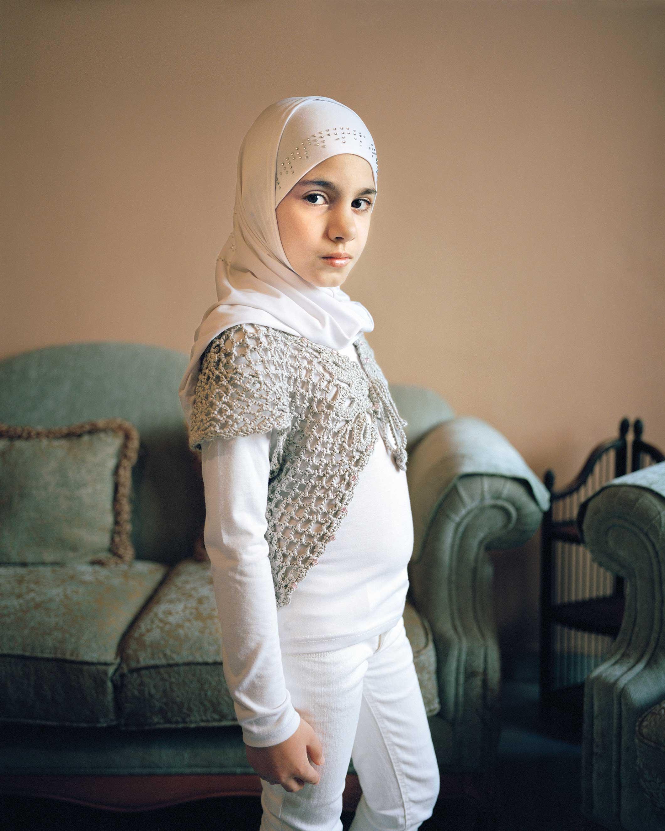 'Maryam 9, Beirut Lebanon, 2011' in the series, L'Enfant-Femme.