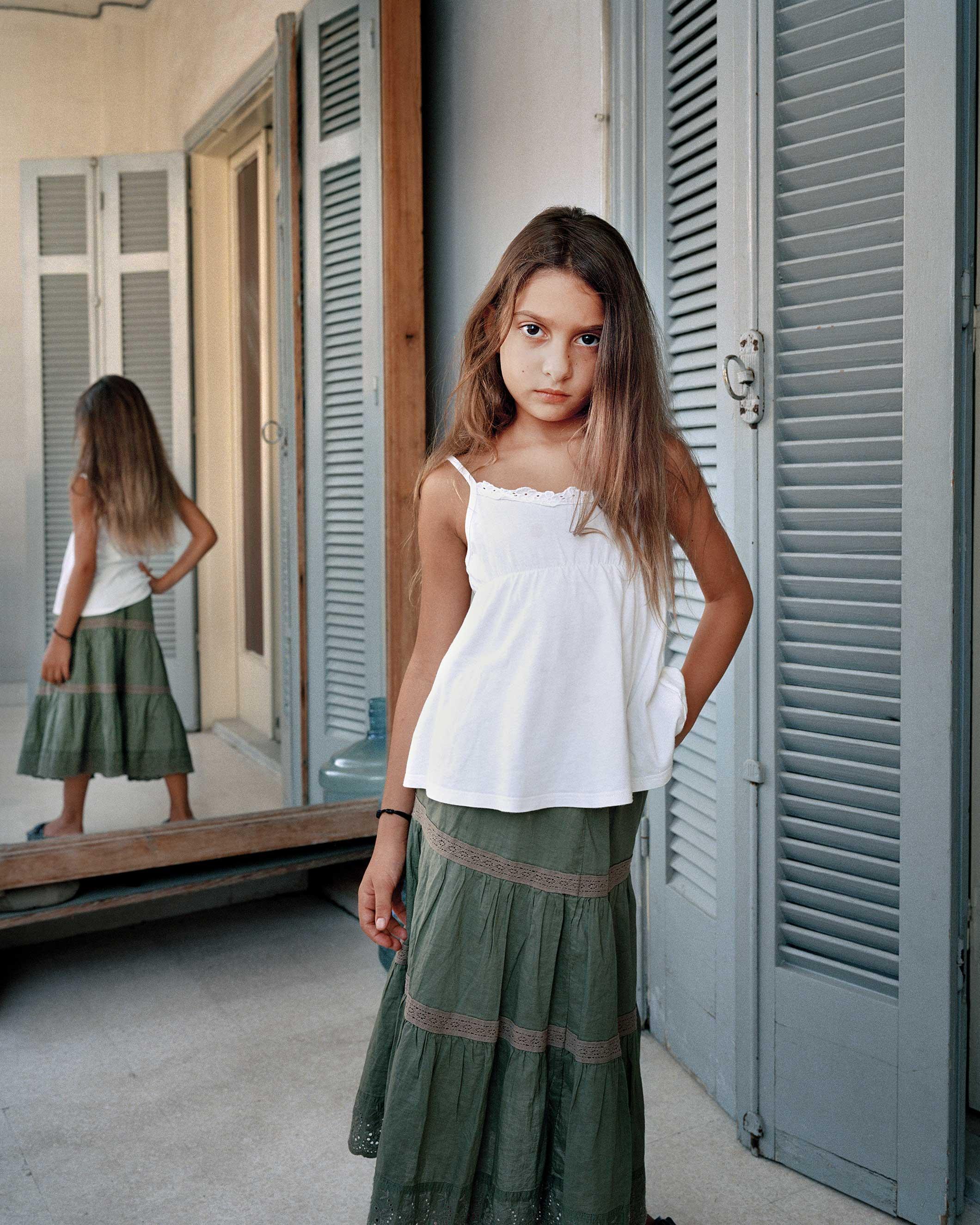 'Alya 9, Beirut Lebanon, 2011' in the series, L'Enfant-Femme.