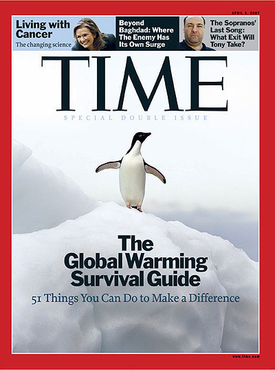 The Apr. 9, 2007, cover of TIME