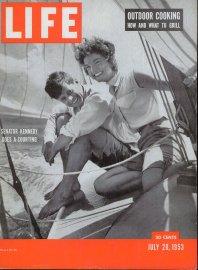 July 20, 1953 cover of LIFE magazine. Cover photo by Hy Peskin.