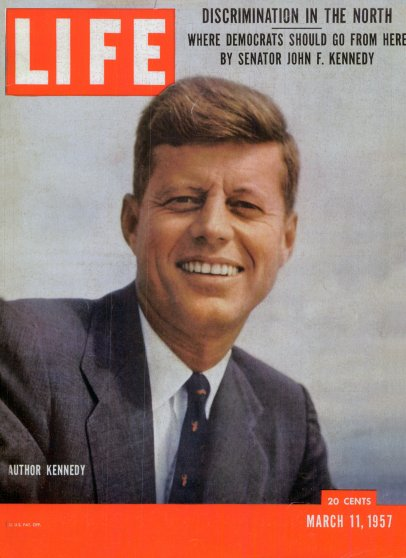 Mar. 11, 1957 cover of LIFE magazine. Cover photo by Hank Walker.