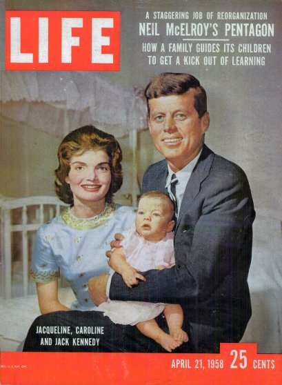 Apr. 21, 1958 cover of LIFE magazine. Cover photo by Nina Leen.