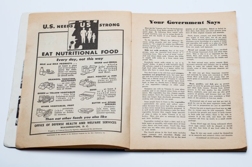WWII-era cookbook for the home front