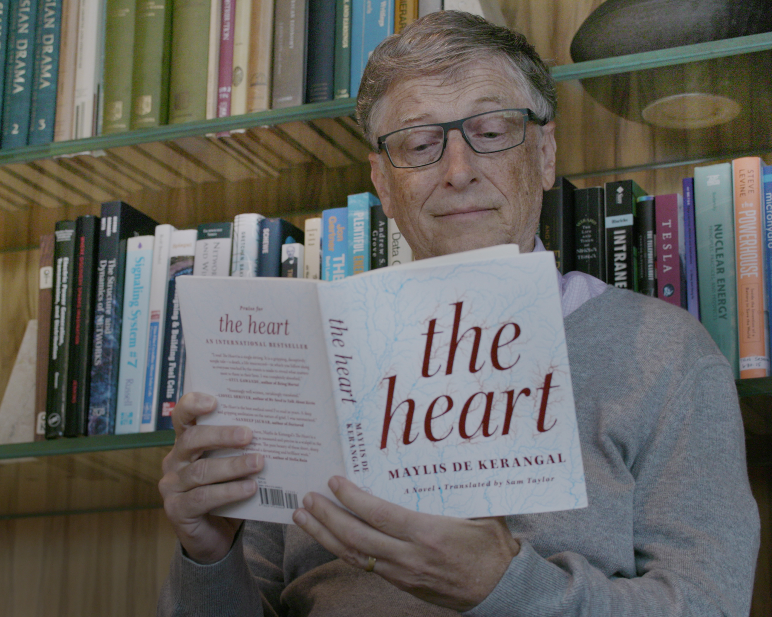 Bill Gates Discusses His Love for Books and Reading