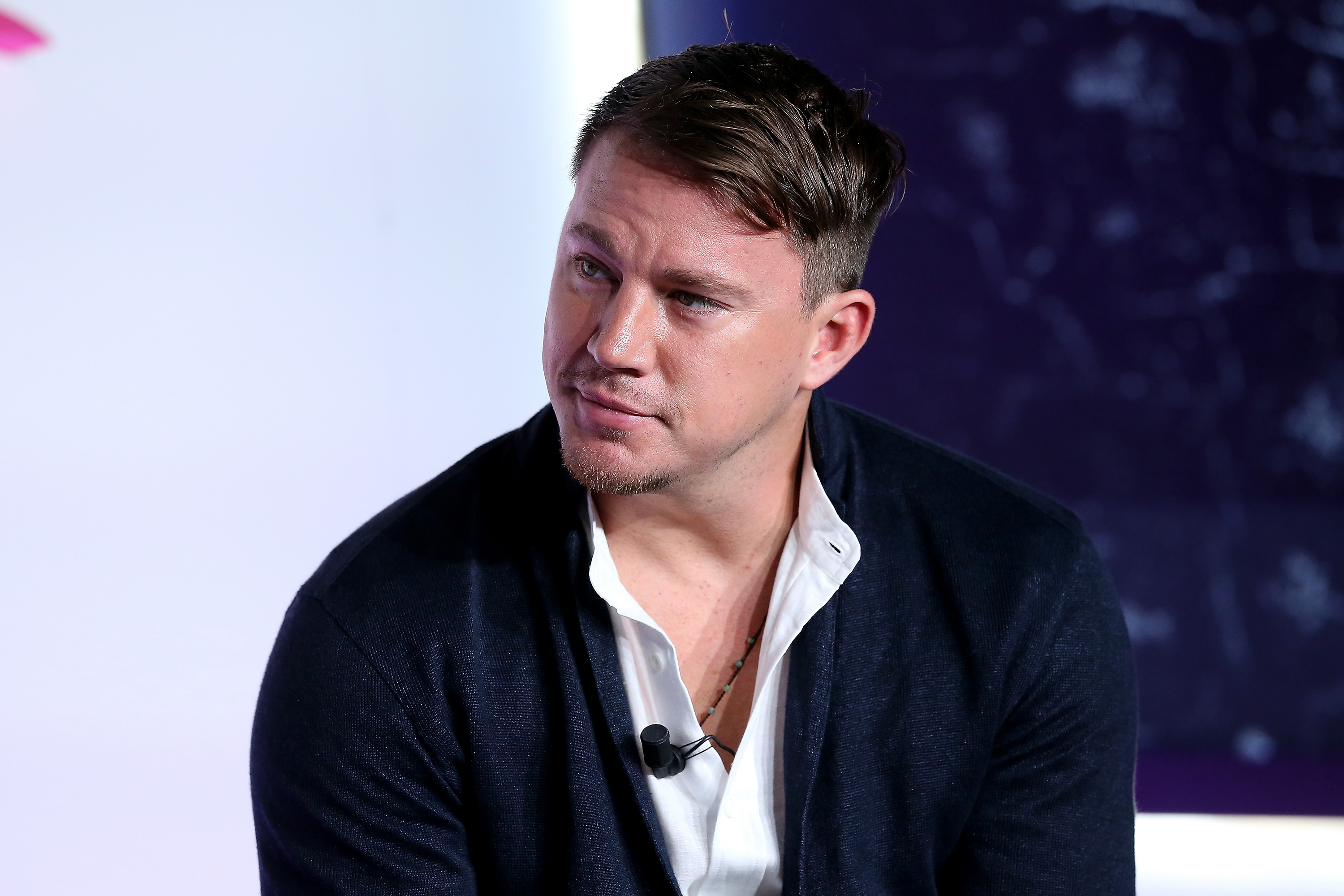 CANNES, FRANCE - JUNE 23: Actor Channing Tatum speaks during  bred for content  seminar hosted by UTA during The Cannes Lions 2016 on June 23, 2016 in Cannes, France.  (Photo by Romain Perrocheau/Getty Images)