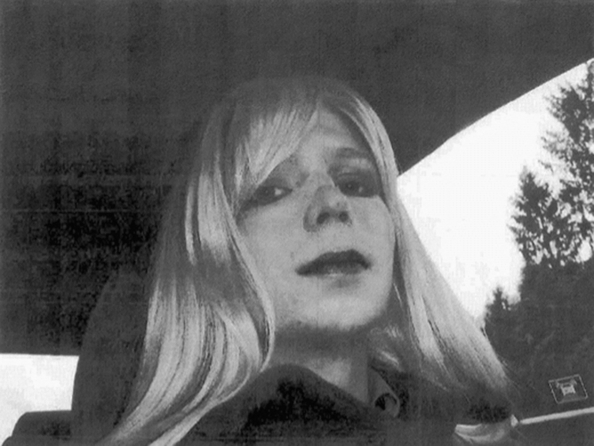 Pfc. Chelsea Manning poses in this undated file photo provided by the U.S. Army.