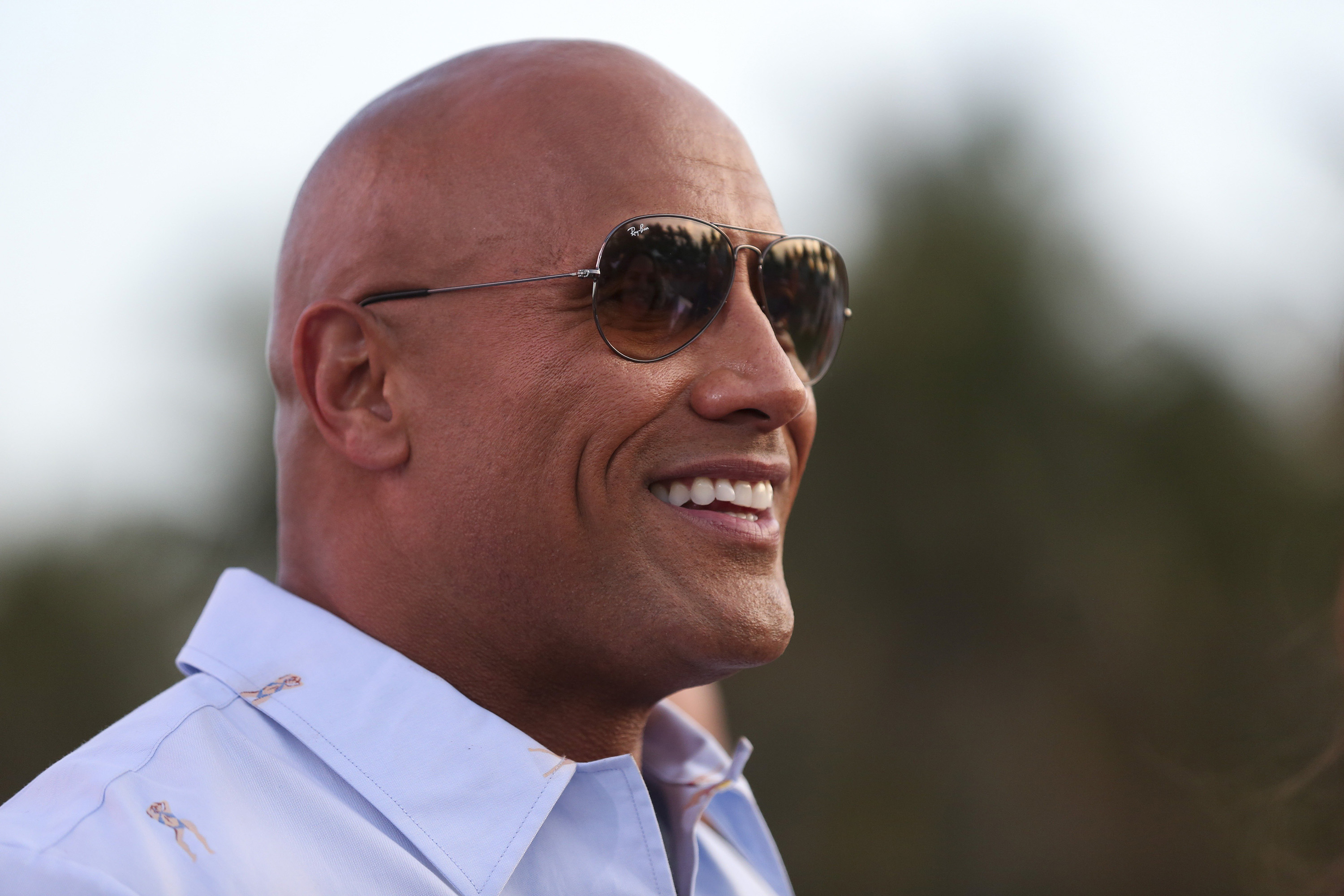 The Rock Dwayne Johnson S Presidential Campaign Is Blank