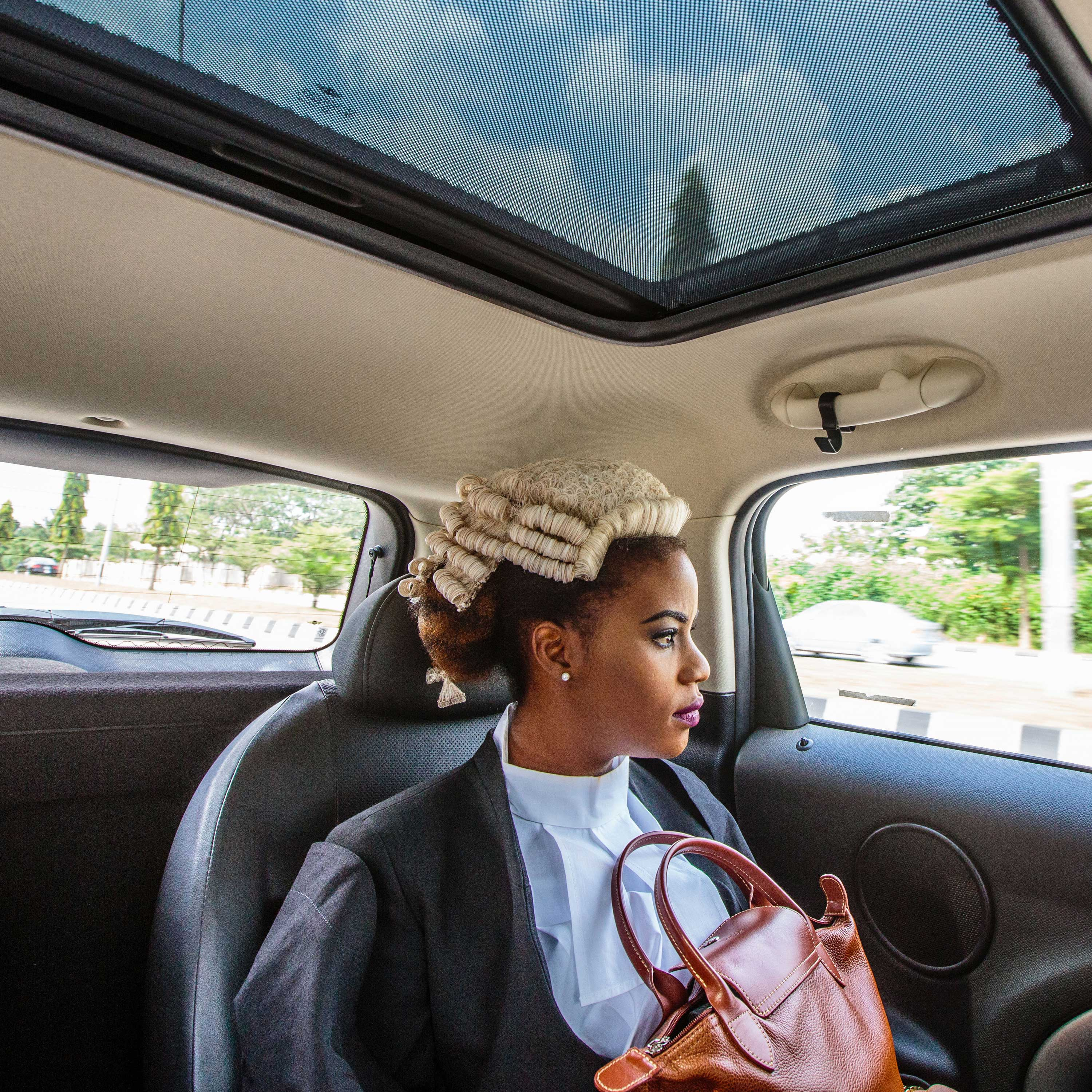 Ginika is on her way to join thousands of Nigerian law graduates called to bar in Abuja, Nigeria.