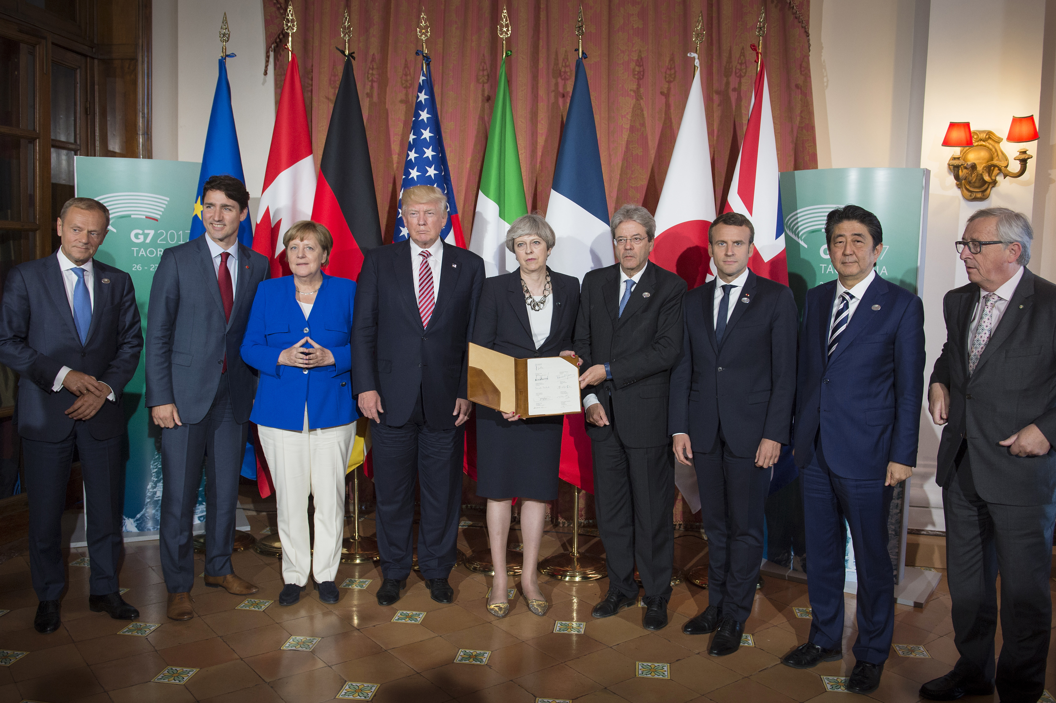 G7 Summit What Is Distracting Each World Leader Time