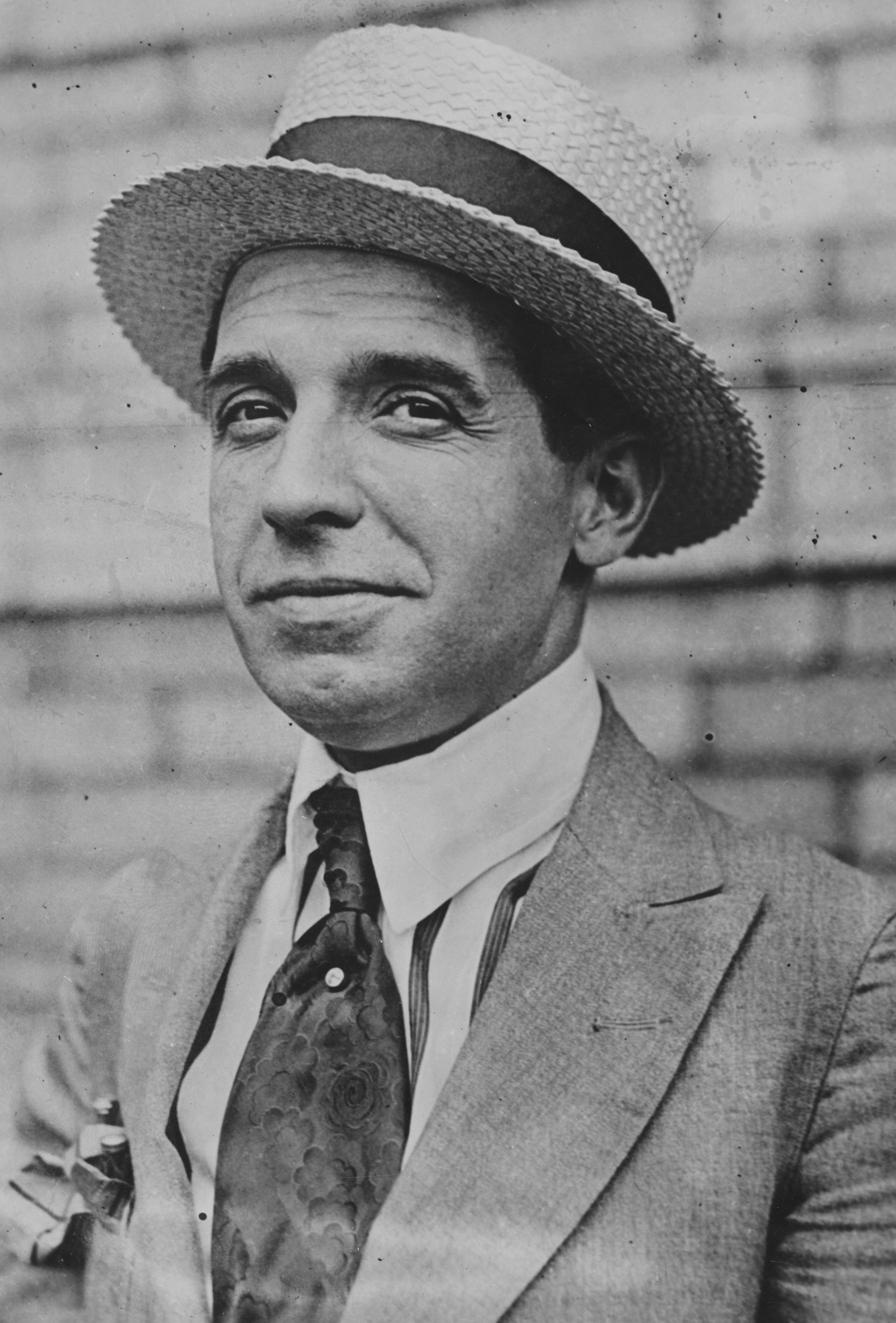 Charles Ponzi, circa 1920.