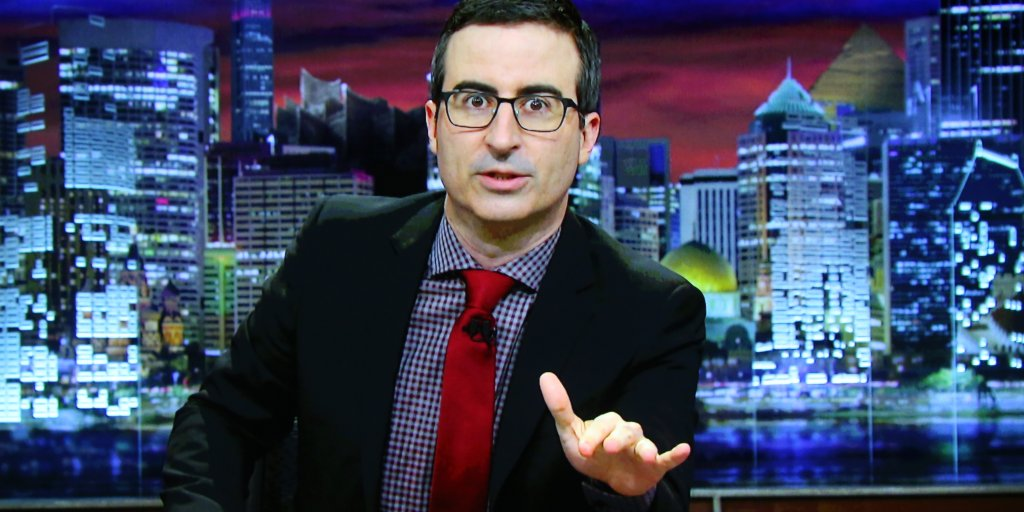 John Oliver Wants You to Flood the FCC Website to Save Net Neutrality, Again