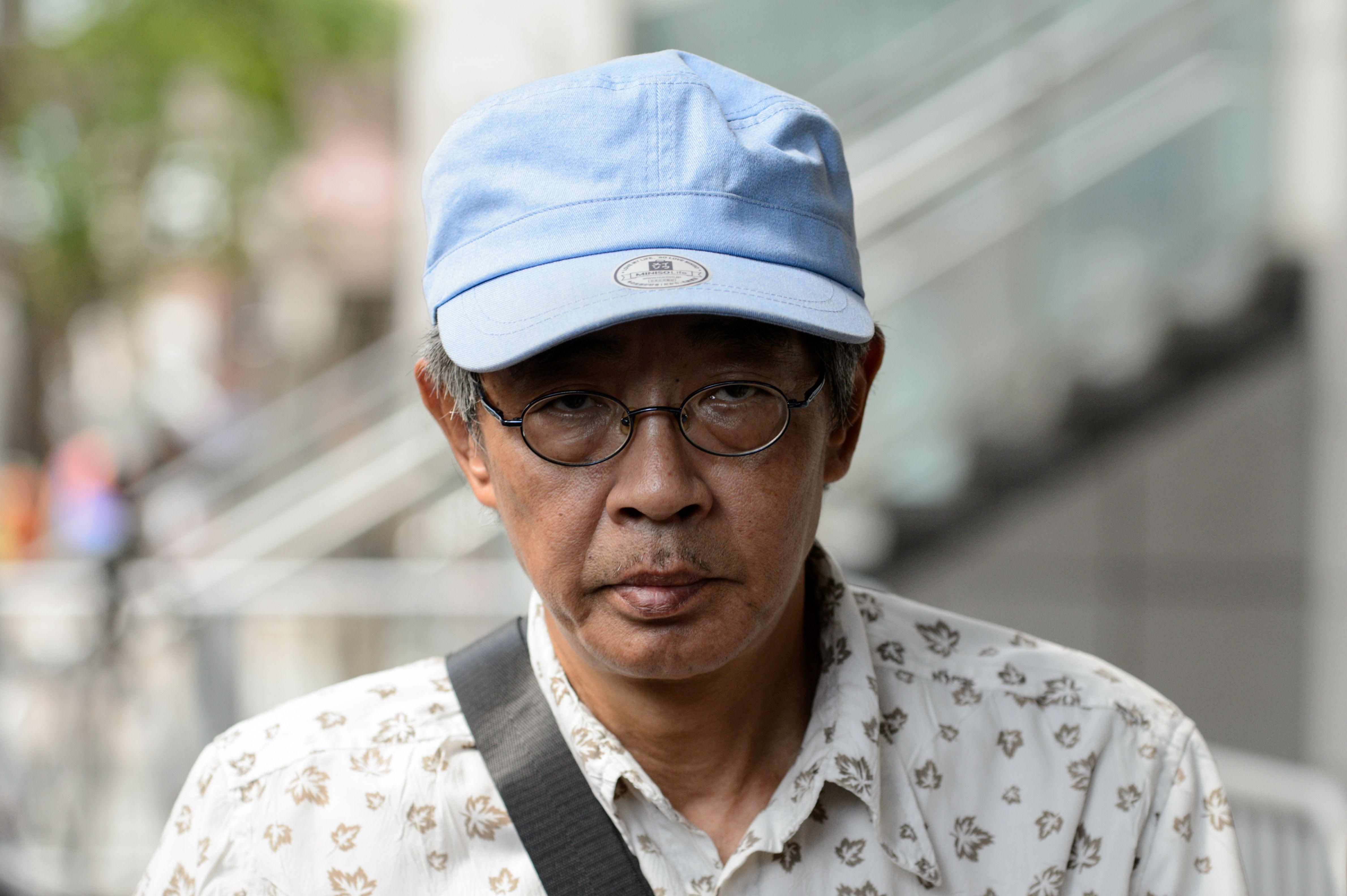 Hong Kong bookseller Lam Wing-kee at Wanchai police station in Hong Kong on June 27, 2016.