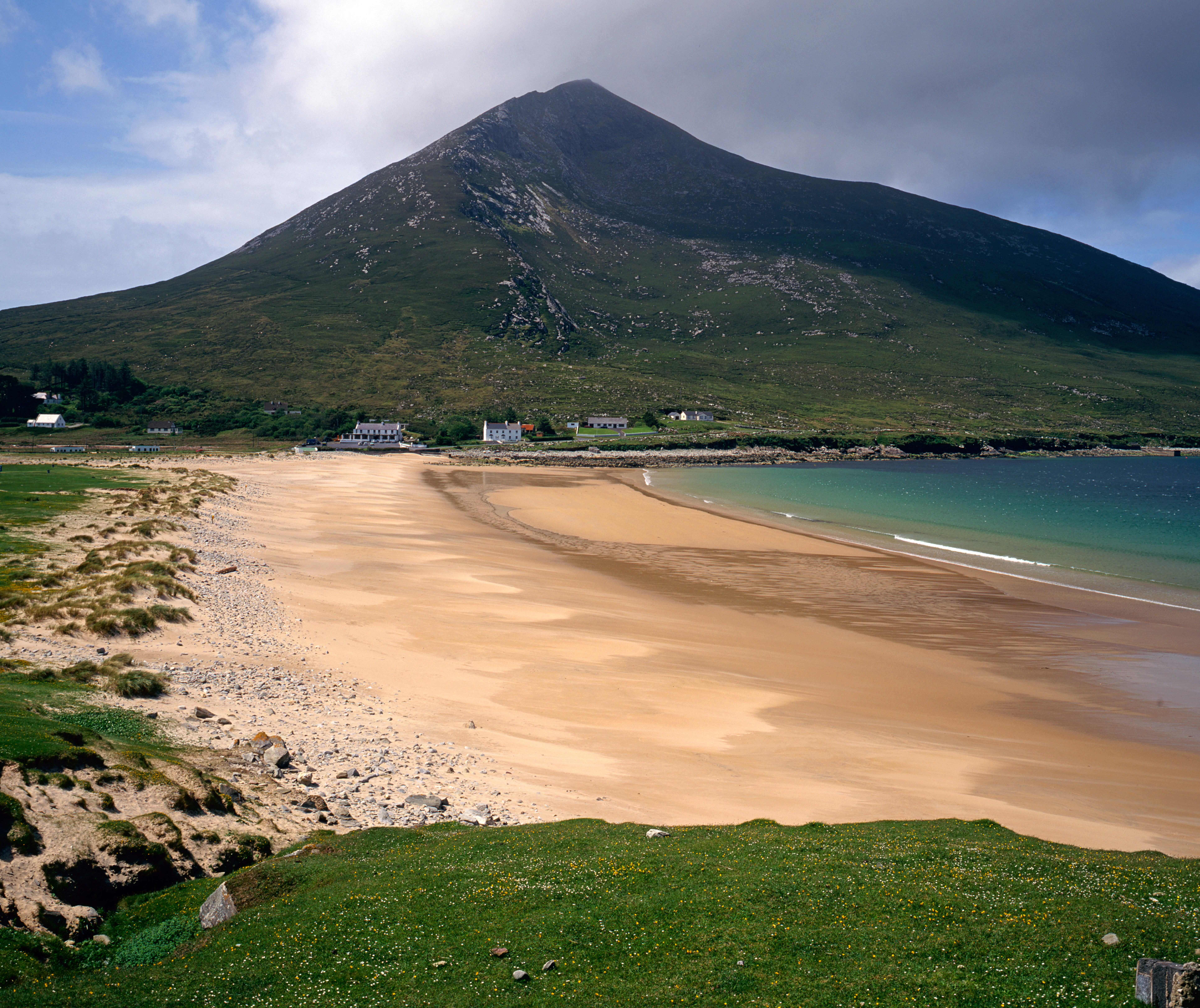 Doogort Beach, Achill Island, West Coast of Ireland.