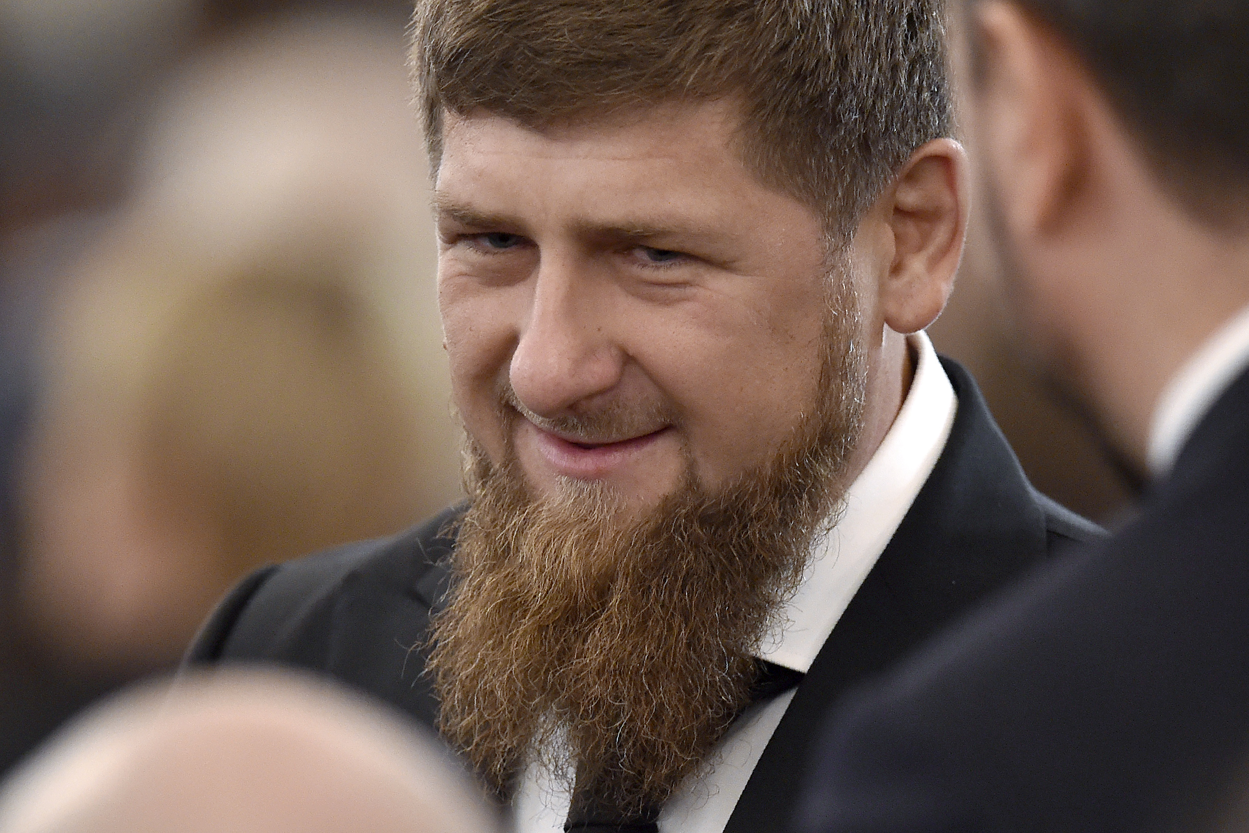 Chechnya's leader Ramzan Kadyrov at the Kremlin in Moscow on December 1, 2016.