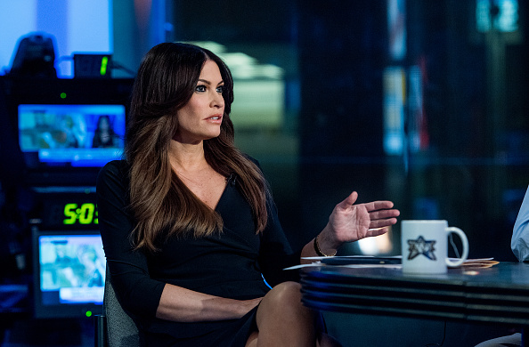 Fox Host Kimberly Guilfoyle sits on the panel of Fox News Channel's 'The Five' as pundit Bob Beckel rejoins the show at FOX Studios on January 17, 2017 in New York City.