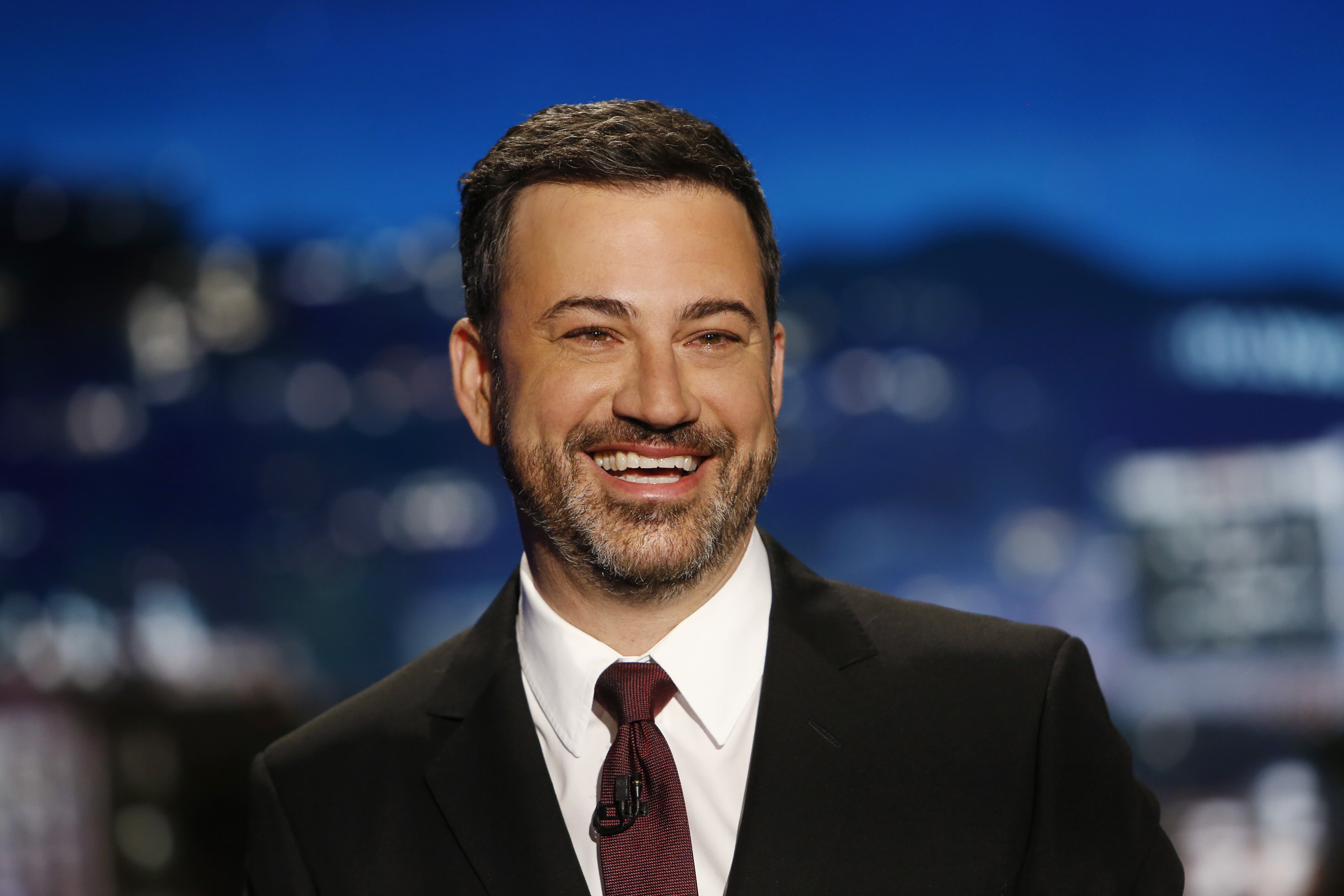 Jimmy Kimmel Live  airs every weeknight at 11:35 p.m. EST and features a diverse lineup of guests that includes celebrities, athletes, musical acts, comedians and human-interest subjects, along with comedy bits and a house band.