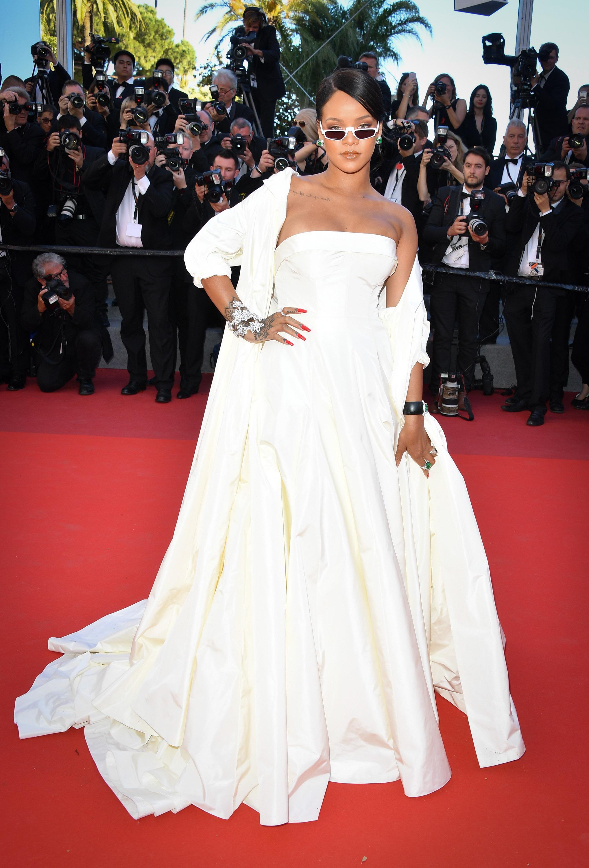 Rihanna in Dior Haute Couture