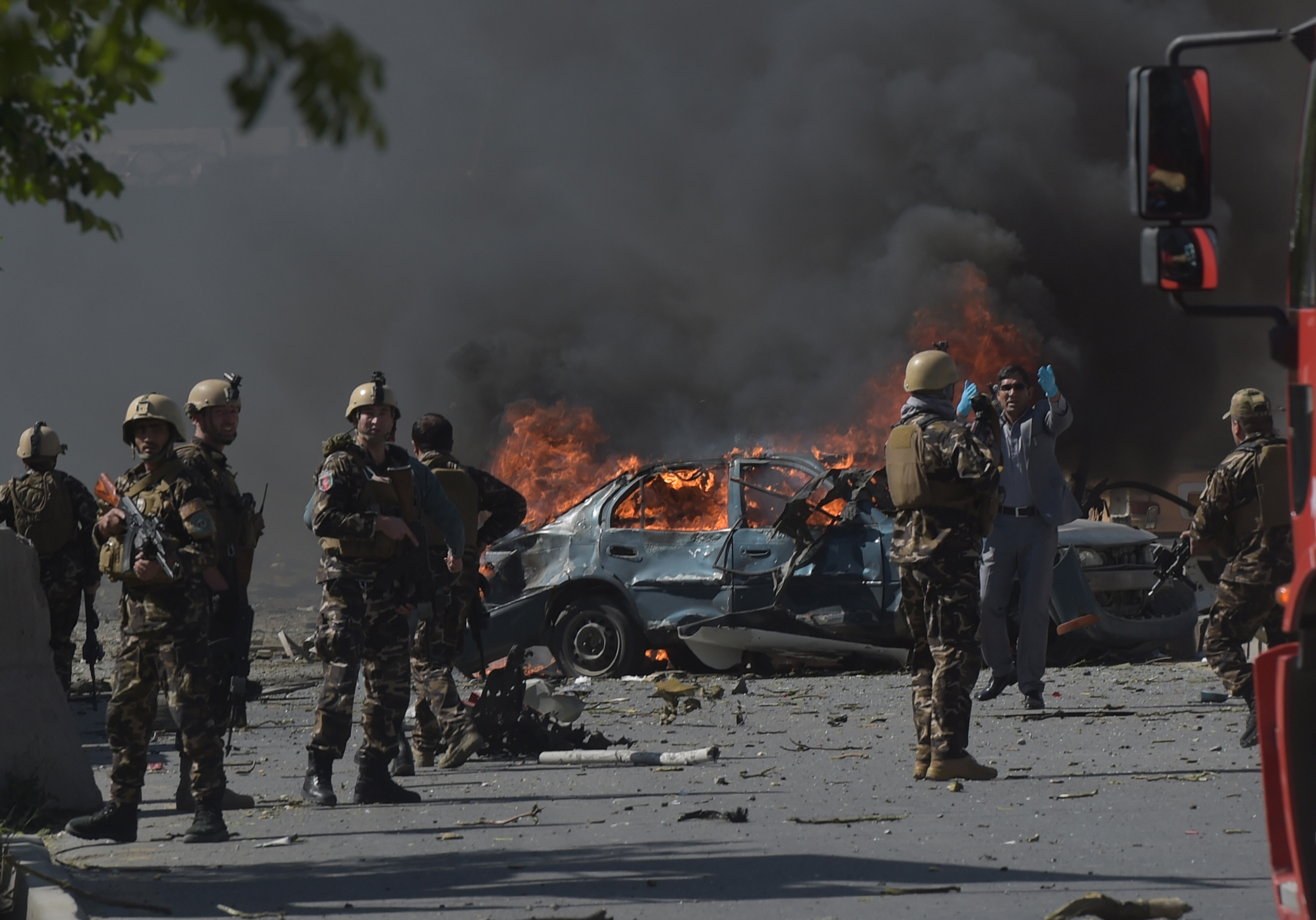 Kabul: Bombing in Afghanistan Kills at Least 80 | Time