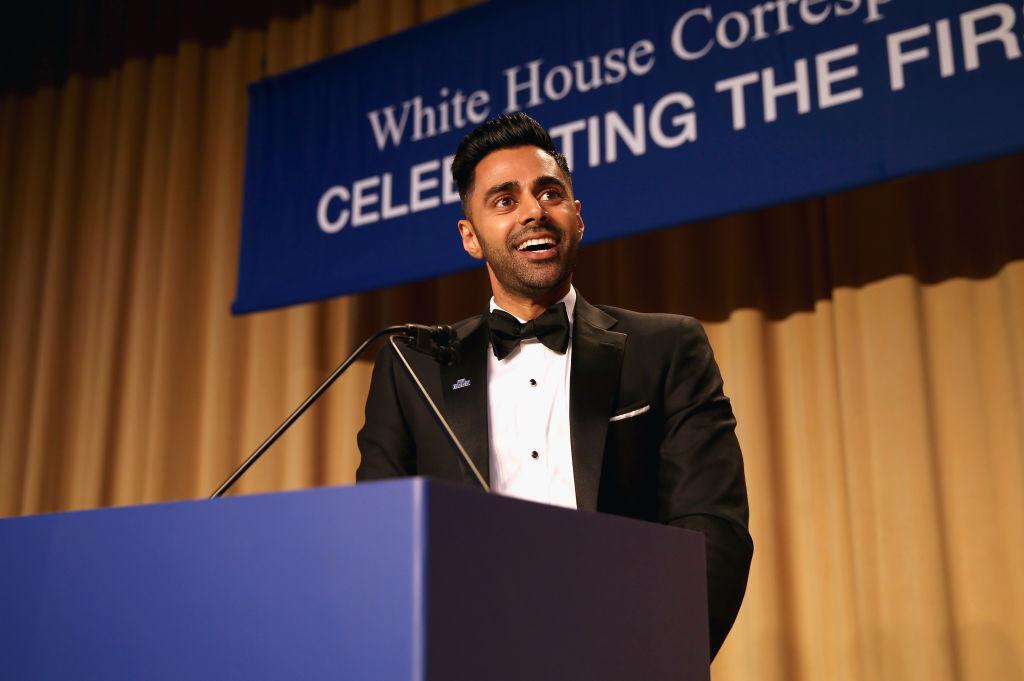 Hasan Minhaj attends the 2017 White House Correspondents' Association Dinner