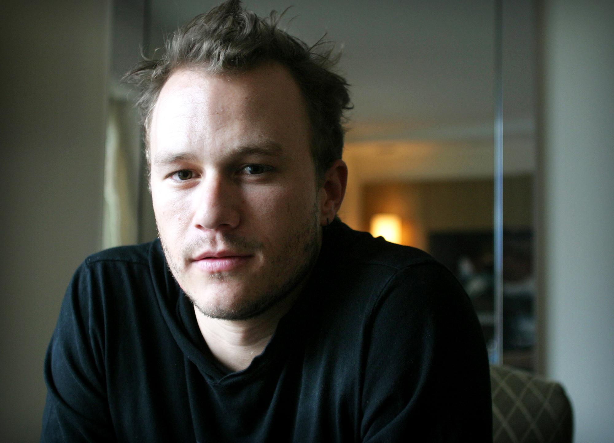 Heath Ledger in 2006.