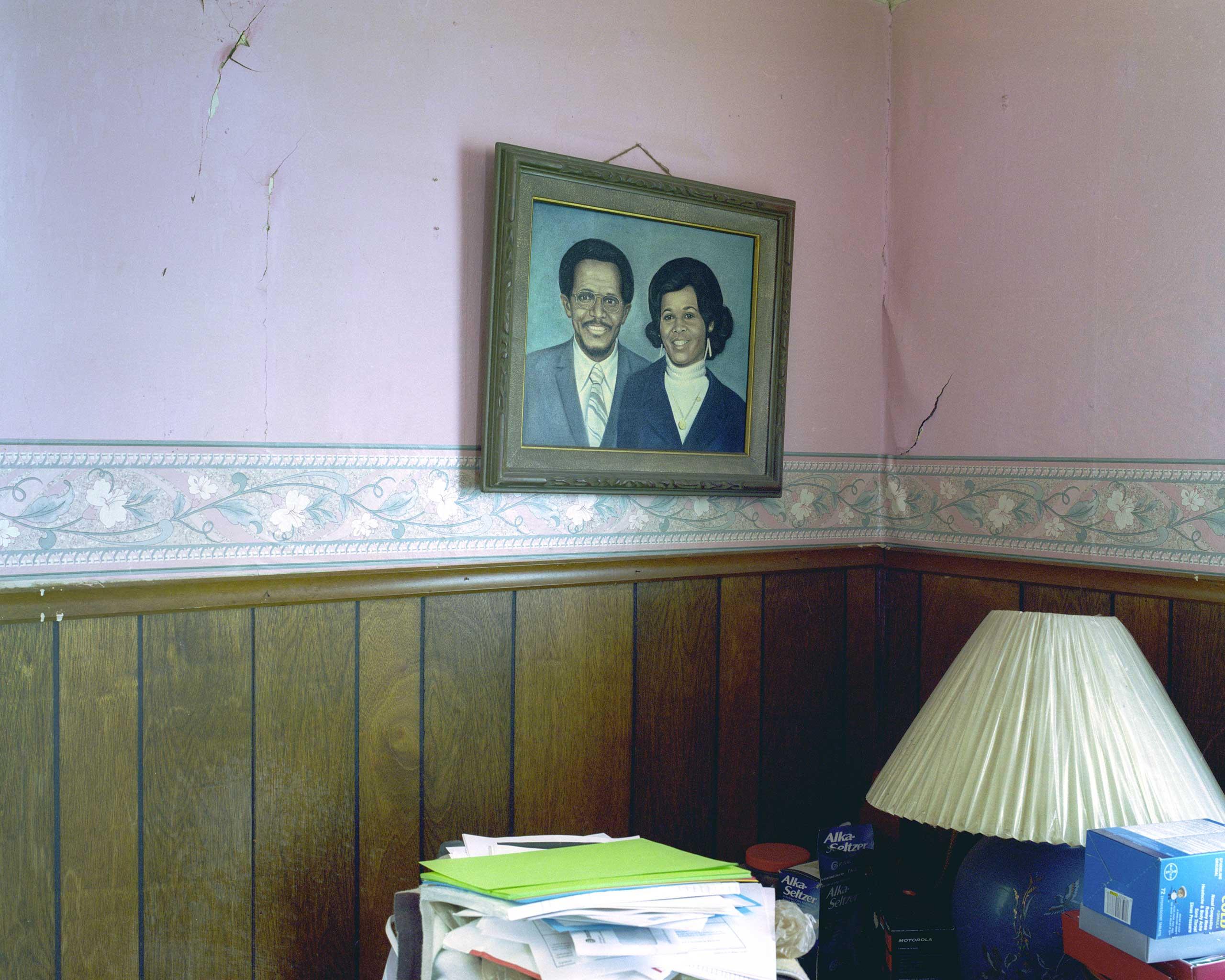 Elbert Lee Daniels Painting of him and his Wife.