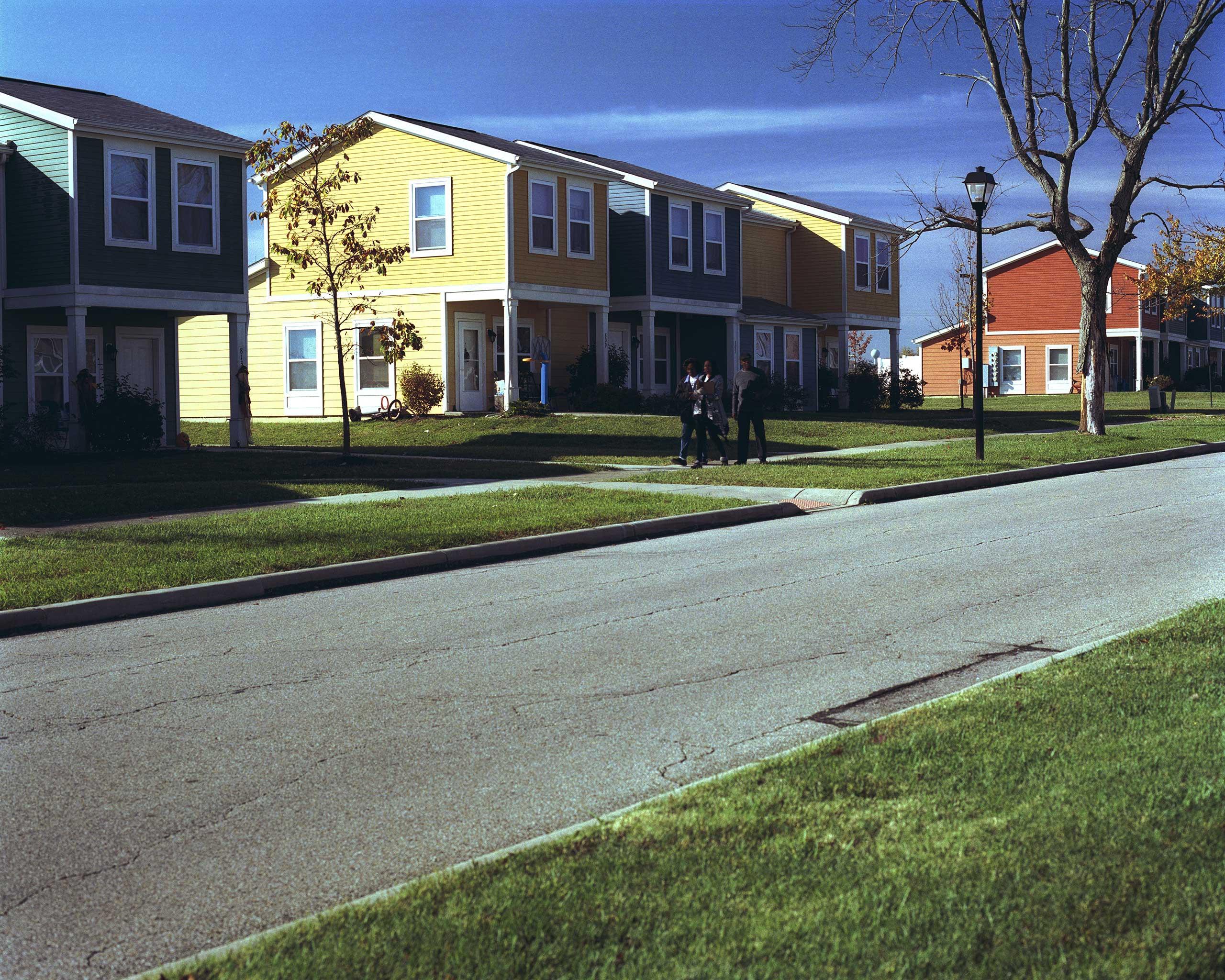 New Valley Homes Estate aka Skittles.