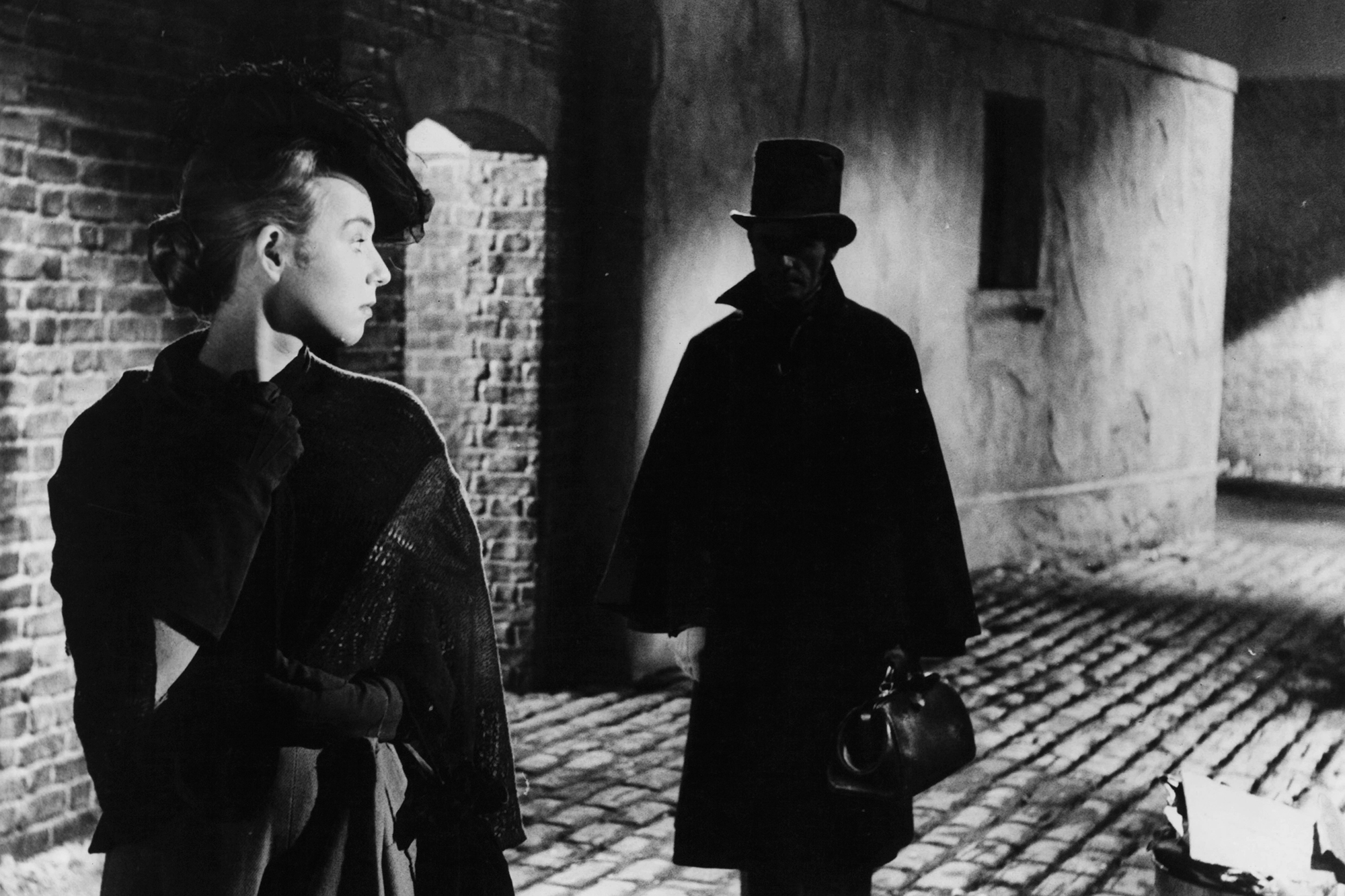 A scene from Jack The Ripper, 1959.