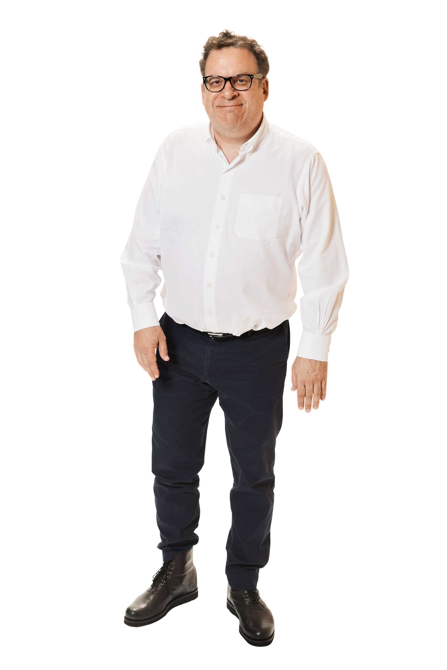 Actor Jeff Garlin poses for a portraits at the Beverly Hills Ballroom of The Beverly Hilton in Beverly Hills.