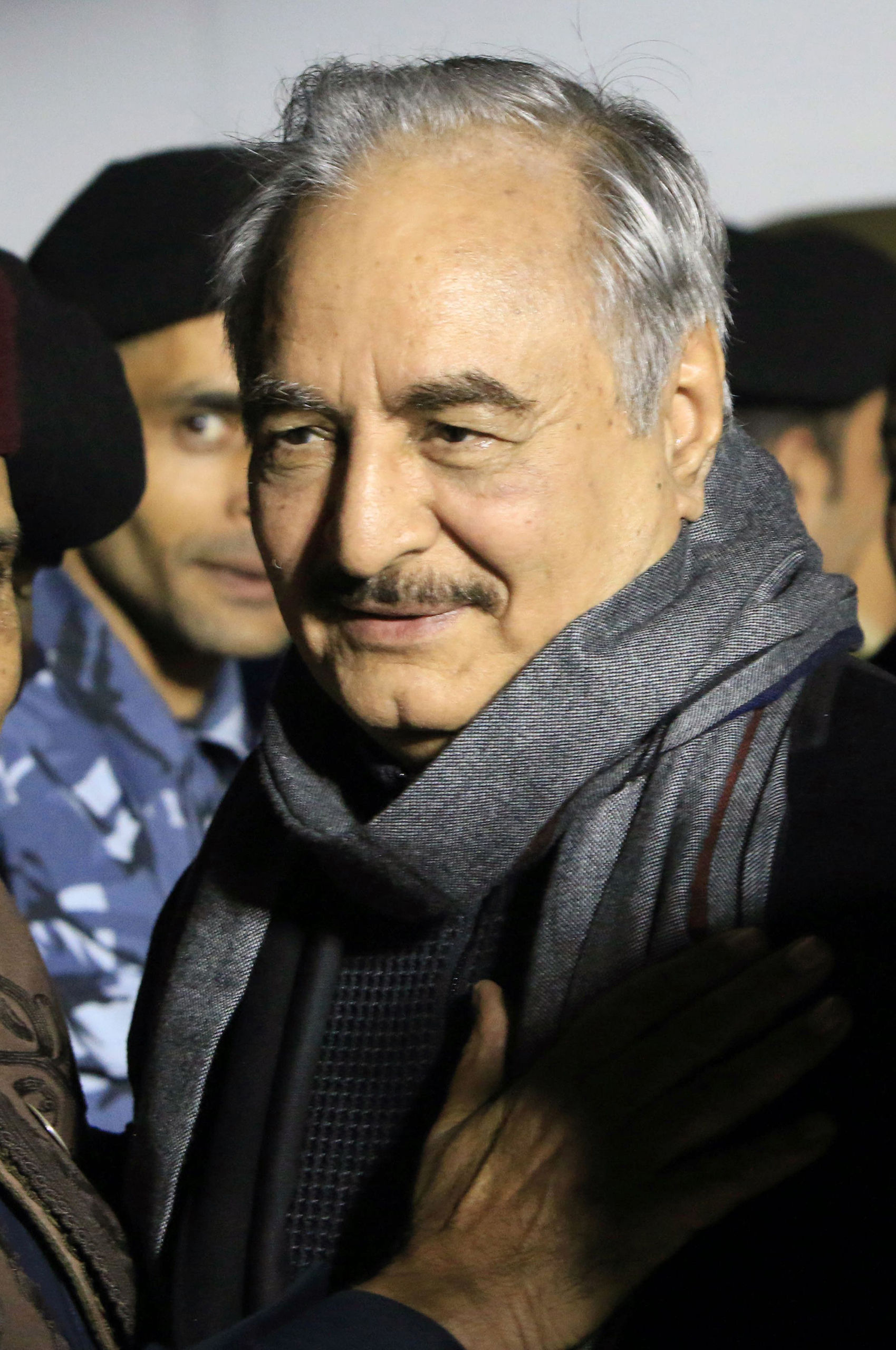 Haftar in December 2016.