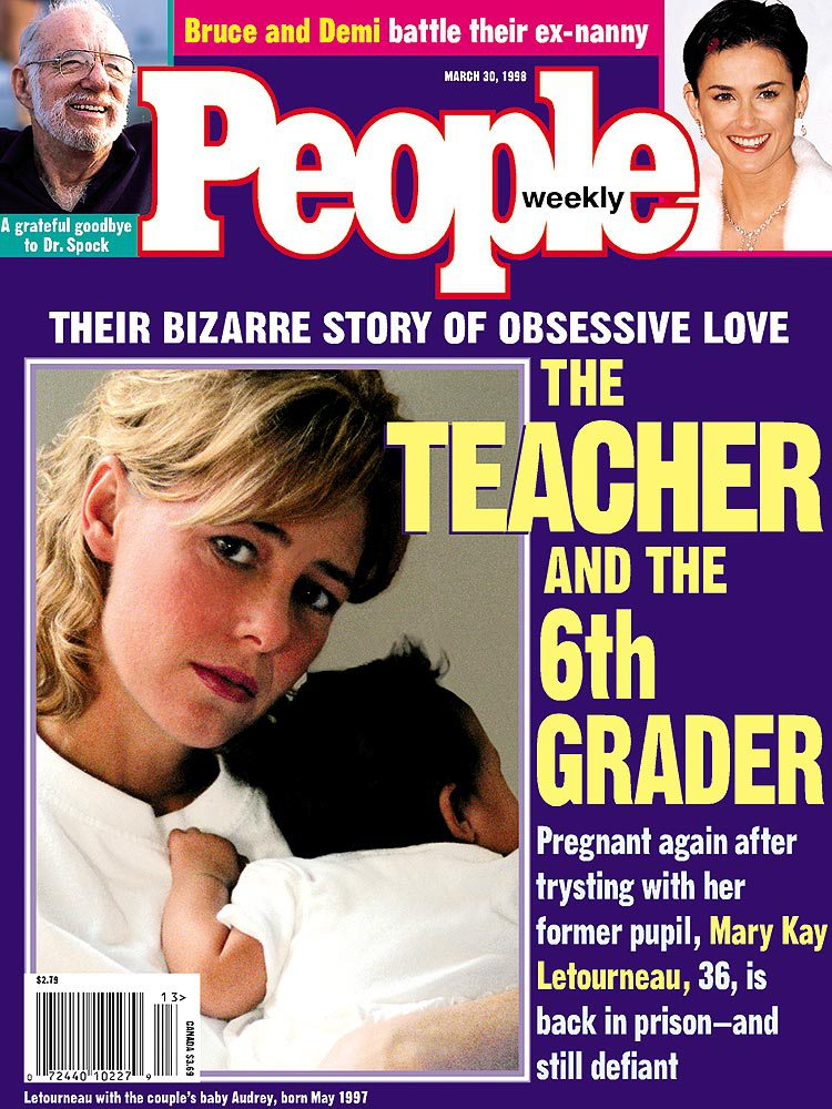 A March 1998 PEOPLE cover story on the Mary Kay Letourneau case.