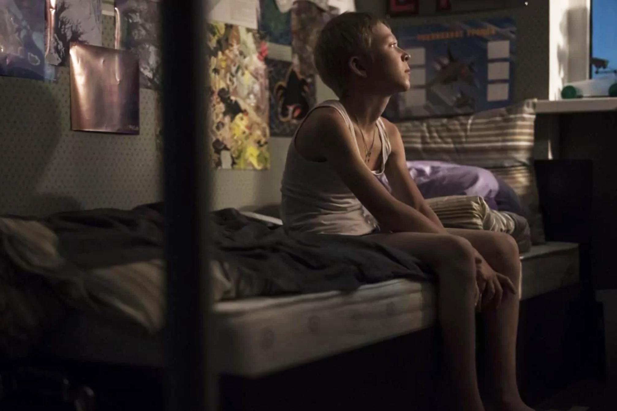 Matvey Novikov stars in Andrey Zvyagintsev's new film Loveless.
