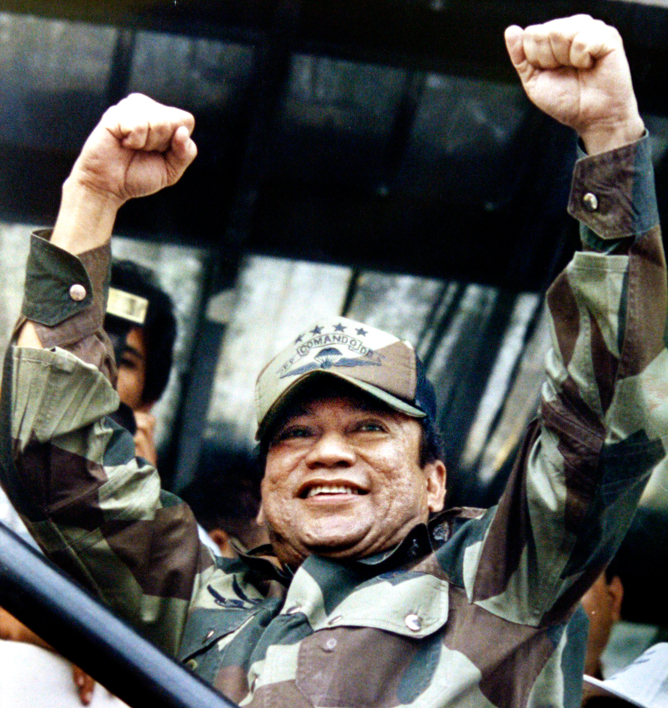 Noriega ruled Panama with an iron fist from 1983 until he was ousted by a U.S. invasion in 1989