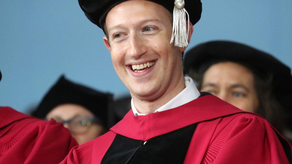 Read Mark Zuckerberg's Harvard Commencement Address